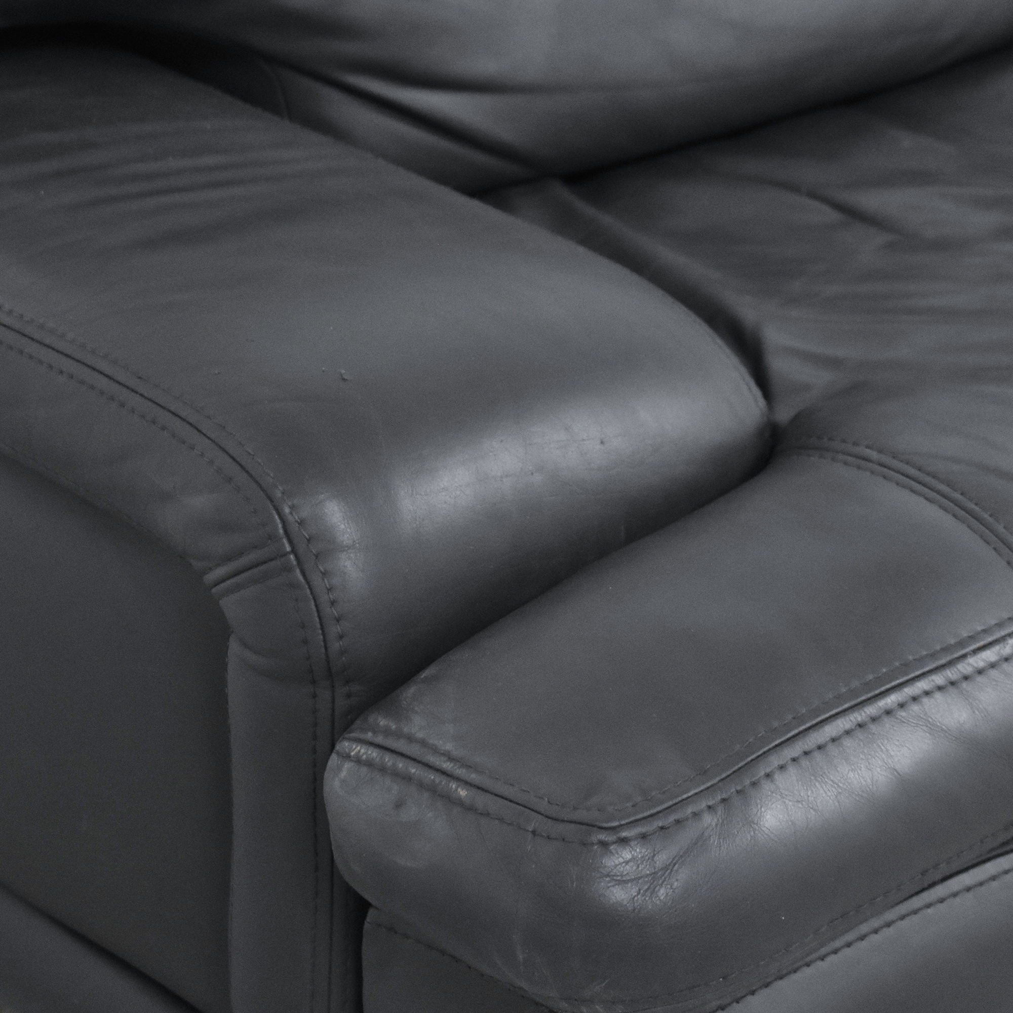 shop Roche Bobois Roche Bobois Two Cushion Sofa online