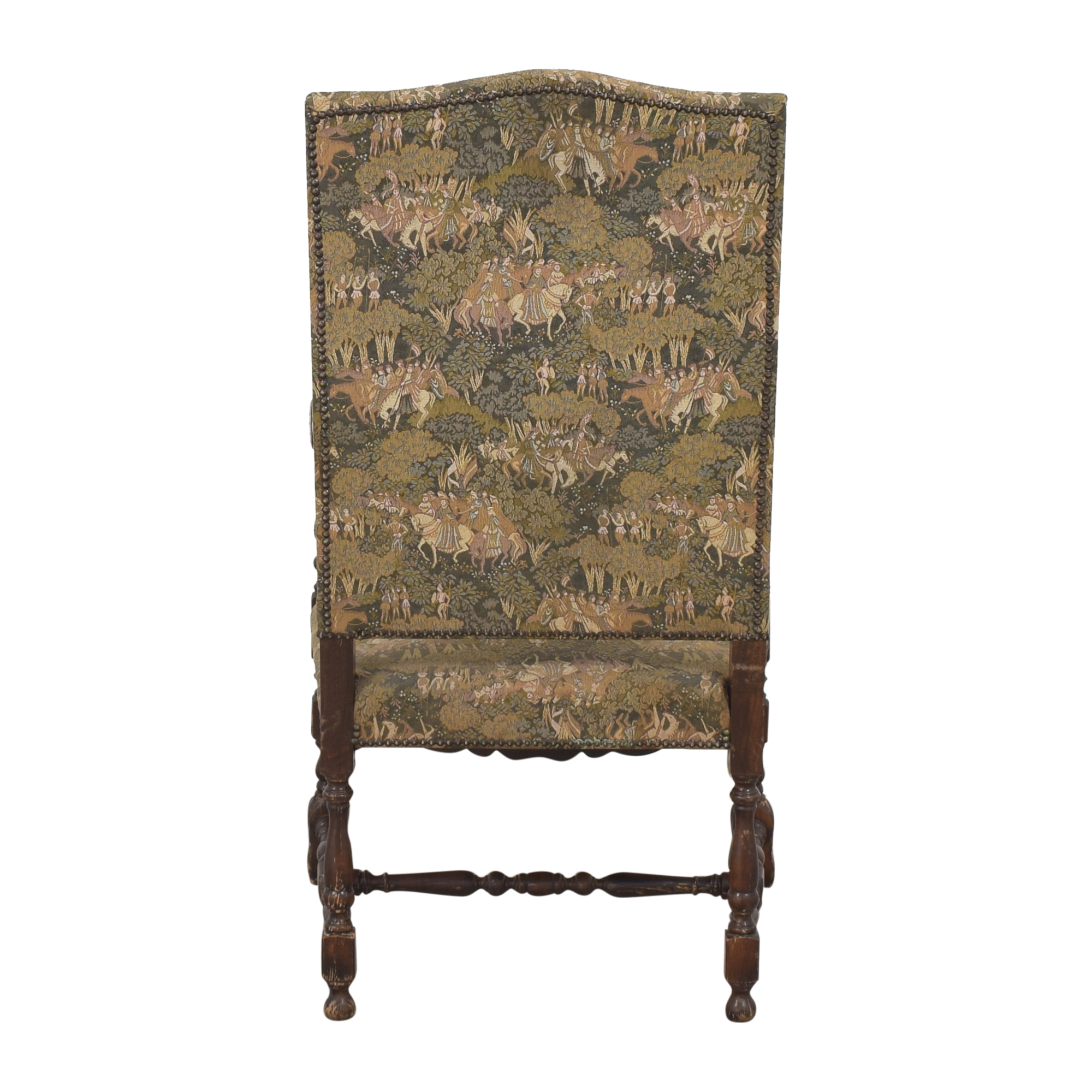 buy Vintage Carved Arm Chair  Chairs