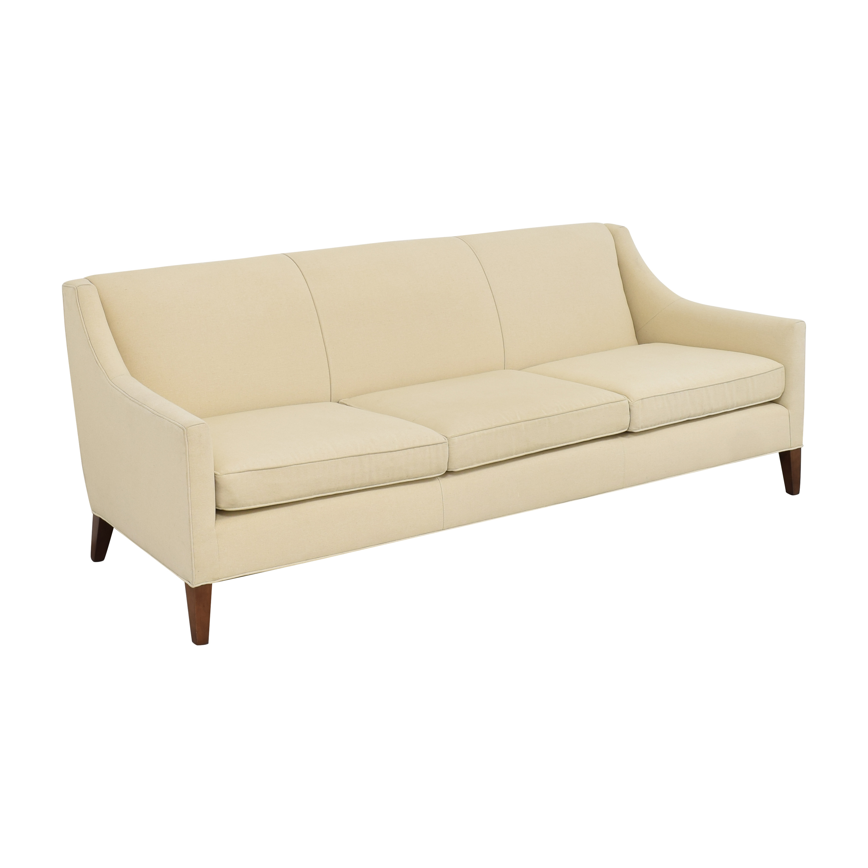 shop Mitchell Gold + Bob Williams Cara Three Cushion Sofa Mitchell Gold + Bob Williams