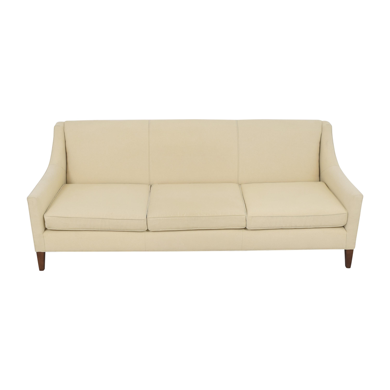 Mitchell Gold + Bob Williams Mitchell Gold + Bob Williams Cara Three Cushion Sofa used