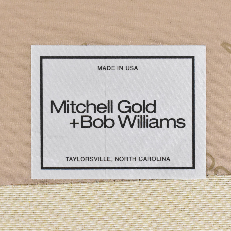 buy Mitchell Gold + Bob Williams Mitchell Gold + Bob Williams Cara Three Cushion Sofa online