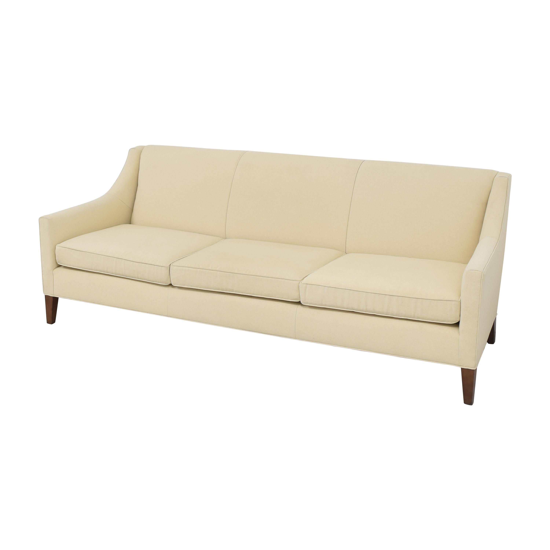 Mitchell Gold + Bob Williams Mitchell Gold + Bob Williams Cara Three Cushion Sofa for sale
