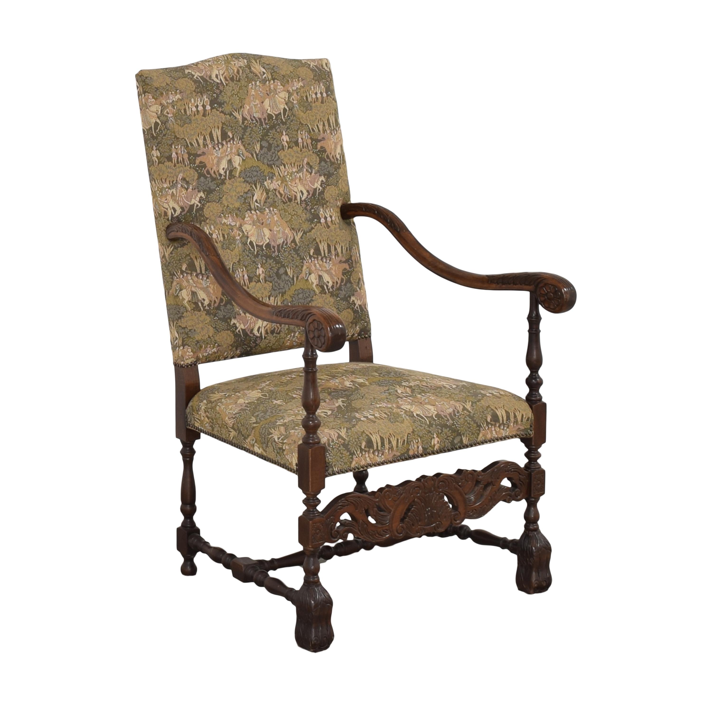 buy  Vintage Carved Arm Chair online