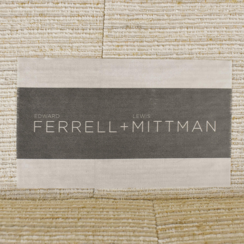 Ferrell Mittman Custom St. Thomas Chaise Sectional Sofa sale