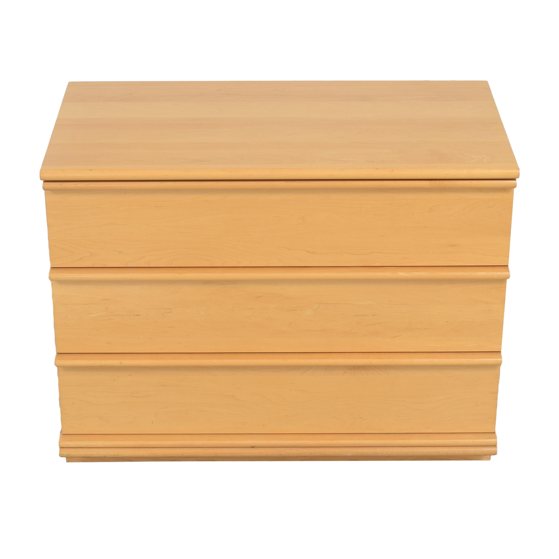 37 Off Modern Three Drawer Dresser Storage