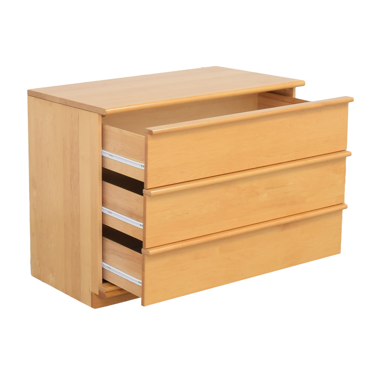 Modern Three Drawer Dresser