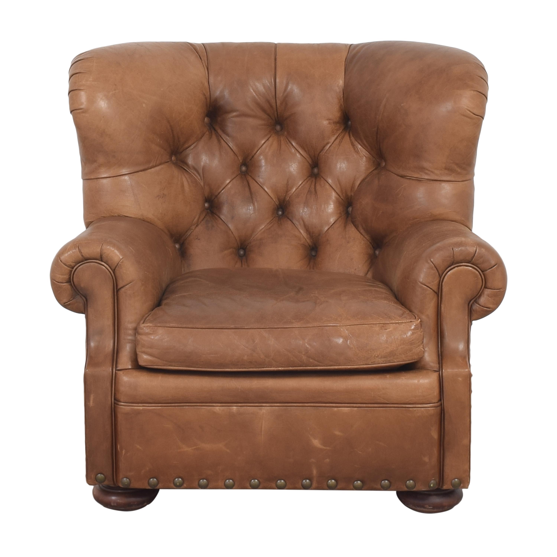 Ralph Lauren Writer's Chair and Ottoman Ralph Lauren Home
