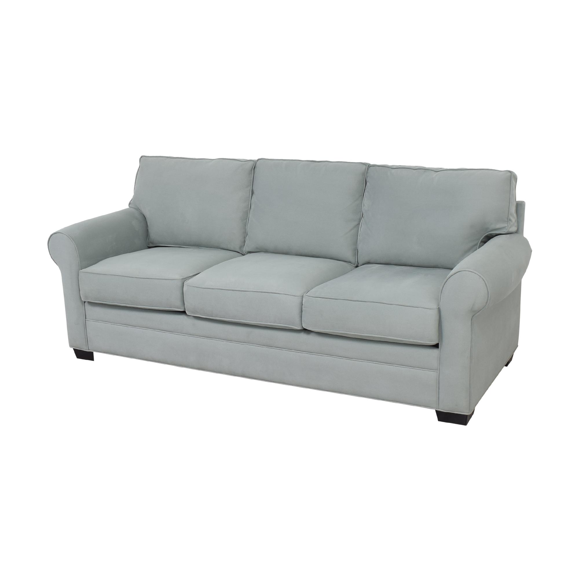 Raymour & Flanigan Raymour & Flanigan Cindy Crawford Home Roll Arm Sofa Sofas