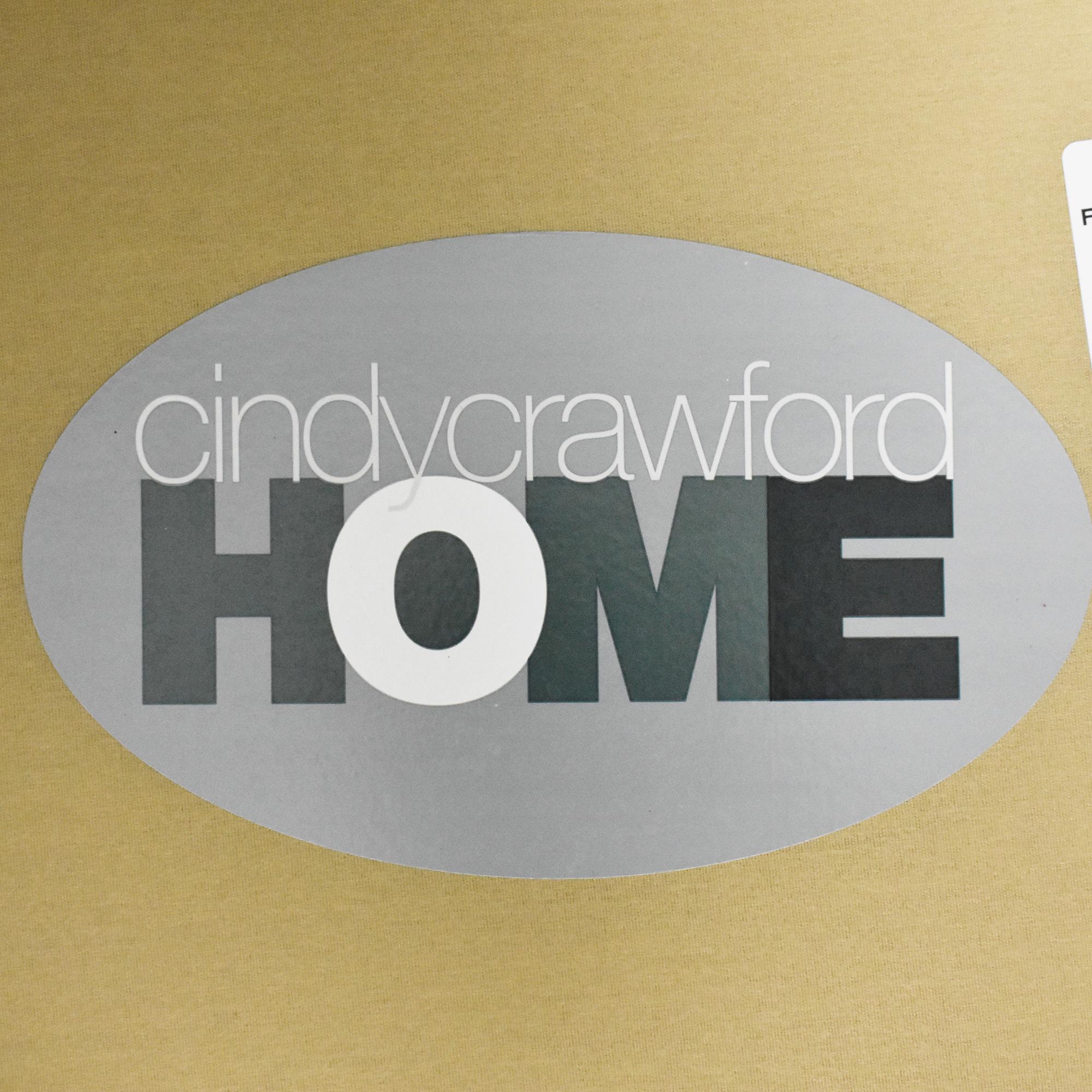 Raymour & Flanigan Raymour & Flanigan Cindy Crawford Home Roll Arm Sofa pa