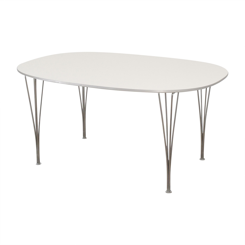 Fritz Hansen Fritz Hansen Super-Elliptical Table by Piet Hein