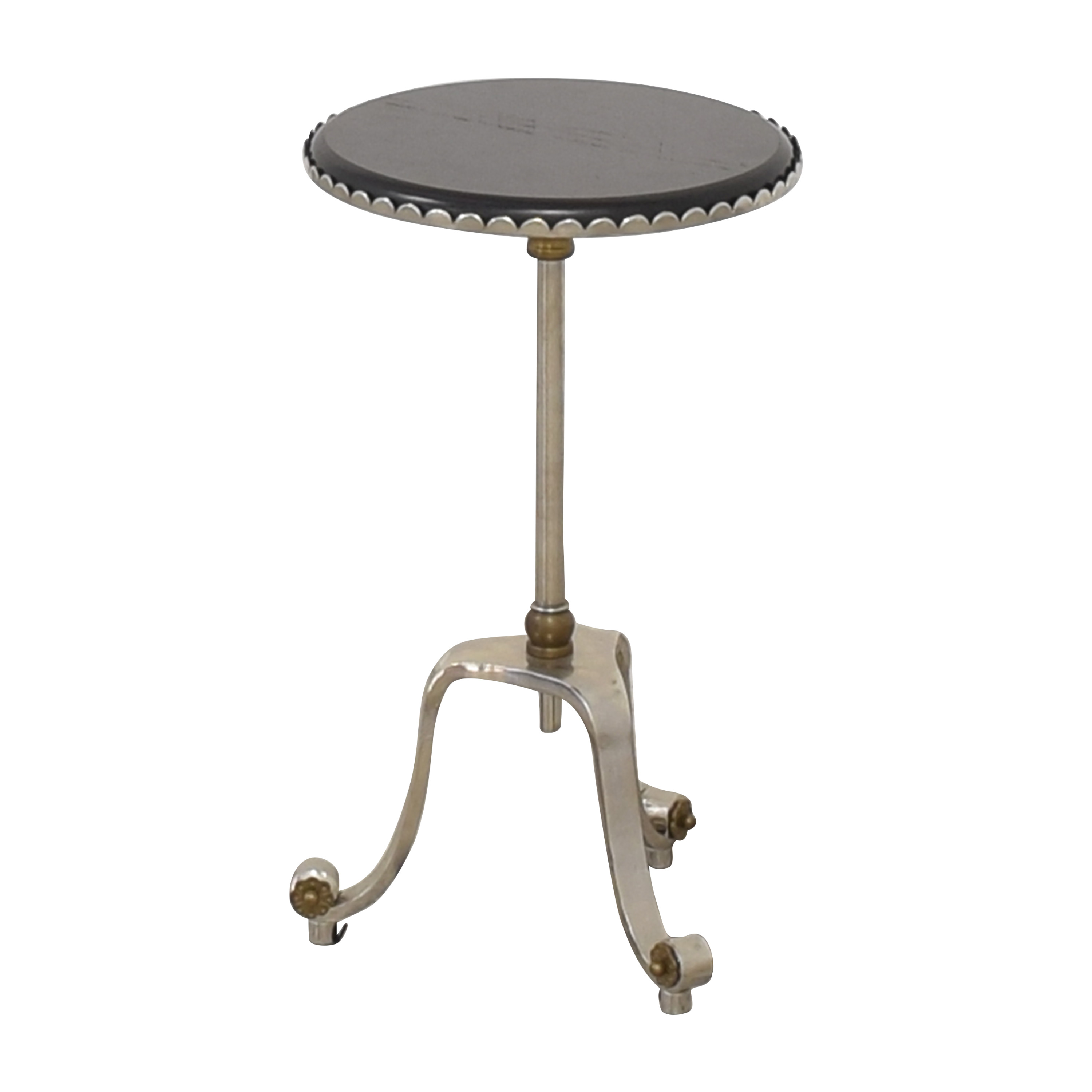 Adjustable Round Top Accent Table Accent Tables