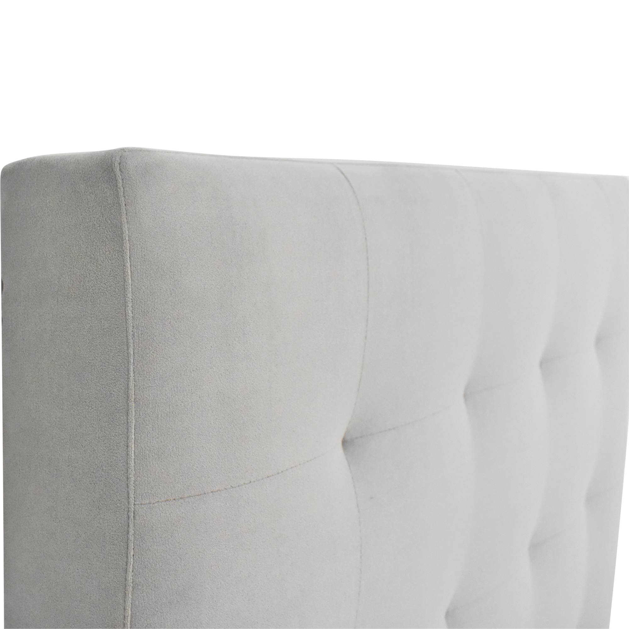 West Elm West Elm Tall Grid Tufted Twin Headboard used