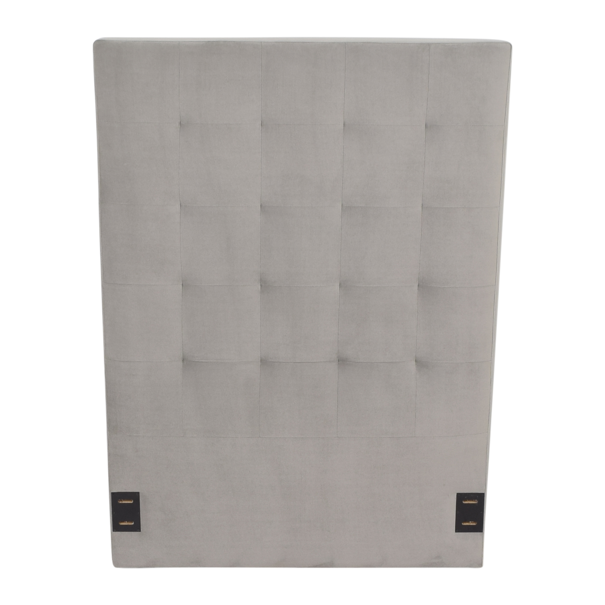 buy West Elm Tall Grid Tufted Twin Headboard West Elm Headboards