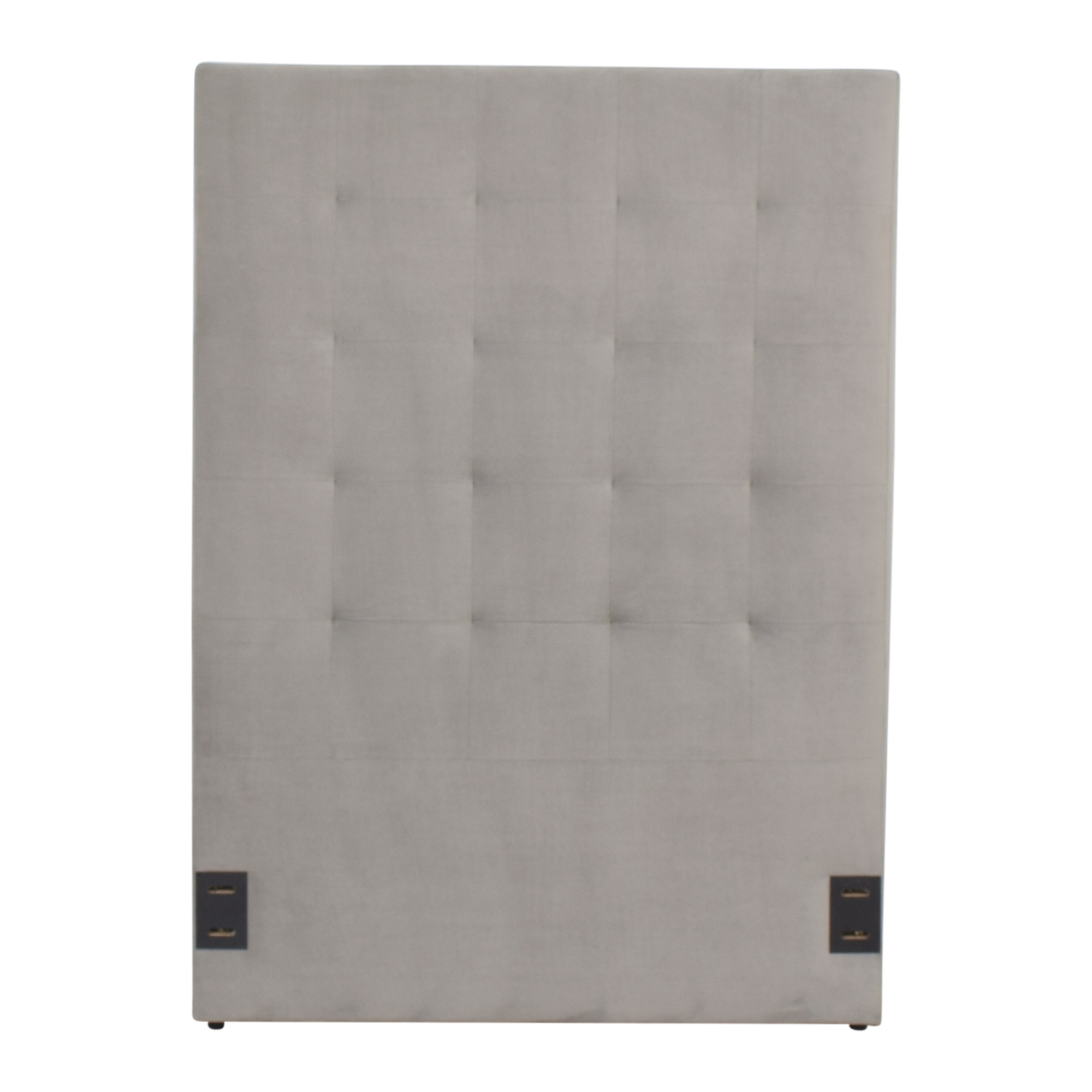 West Elm West Elm Tall Grid Tufted Twin Headboard Headboards