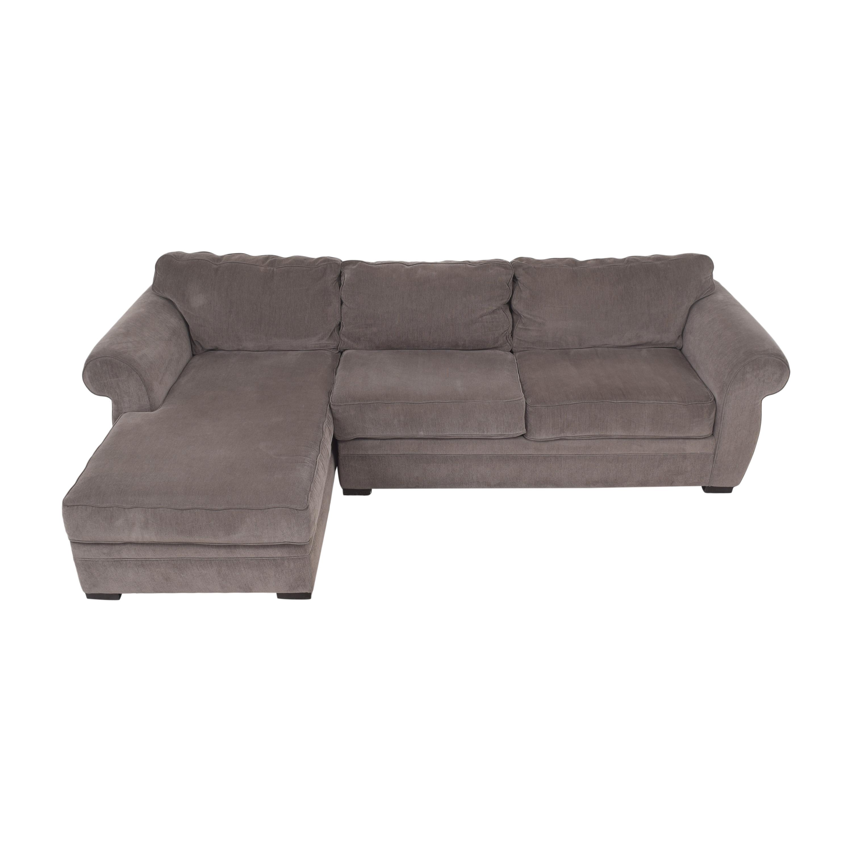 shop Macy's Chaise Sectional Sofa Macy's Sofas