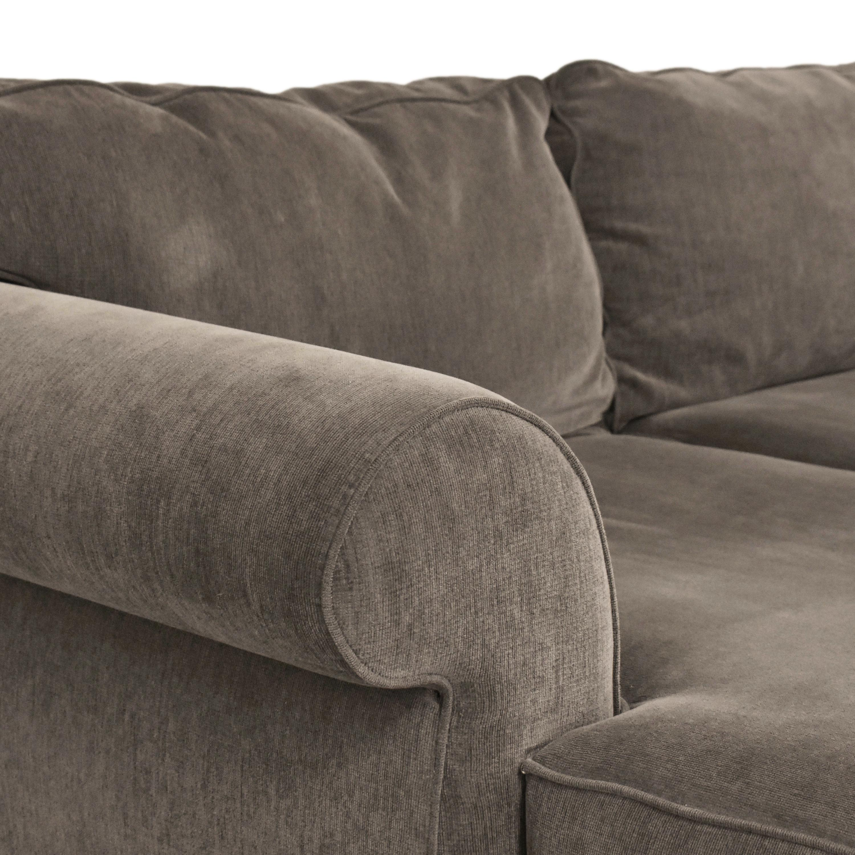 Macy's Macy's Chaise Sectional Sofa nyc