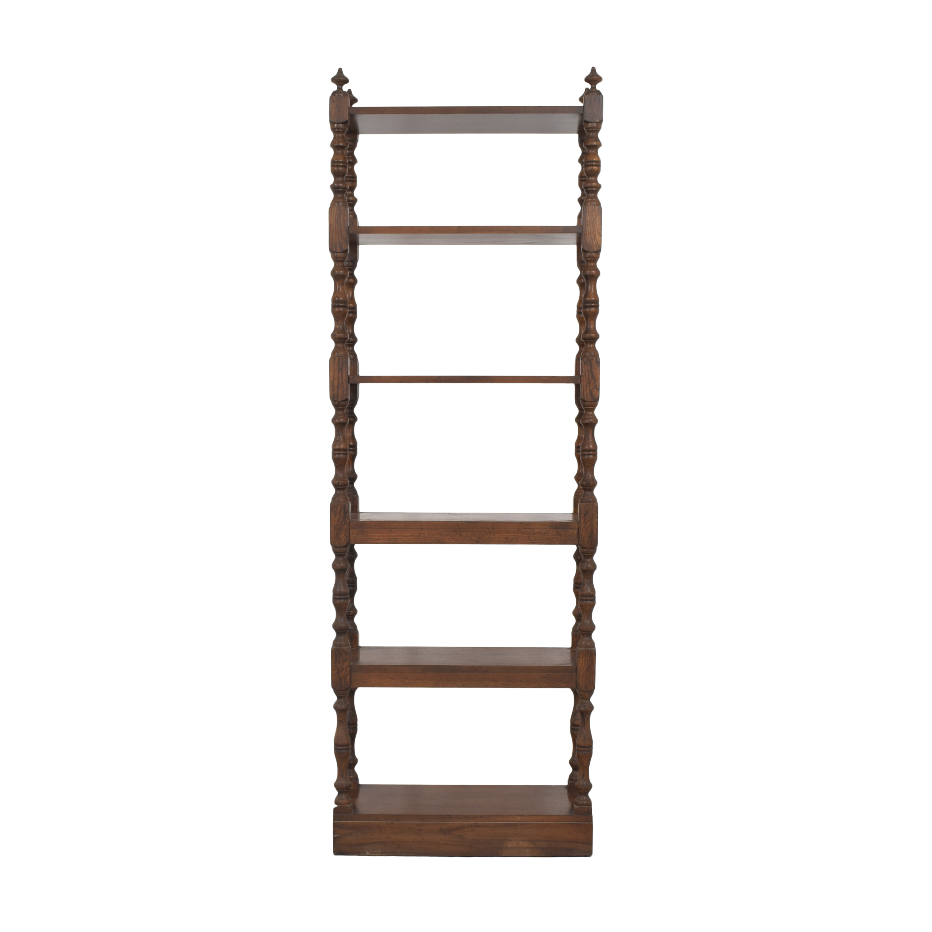 Drexel Heritage Drexel Heritage Turned Column Etagere Bookcase dimensions