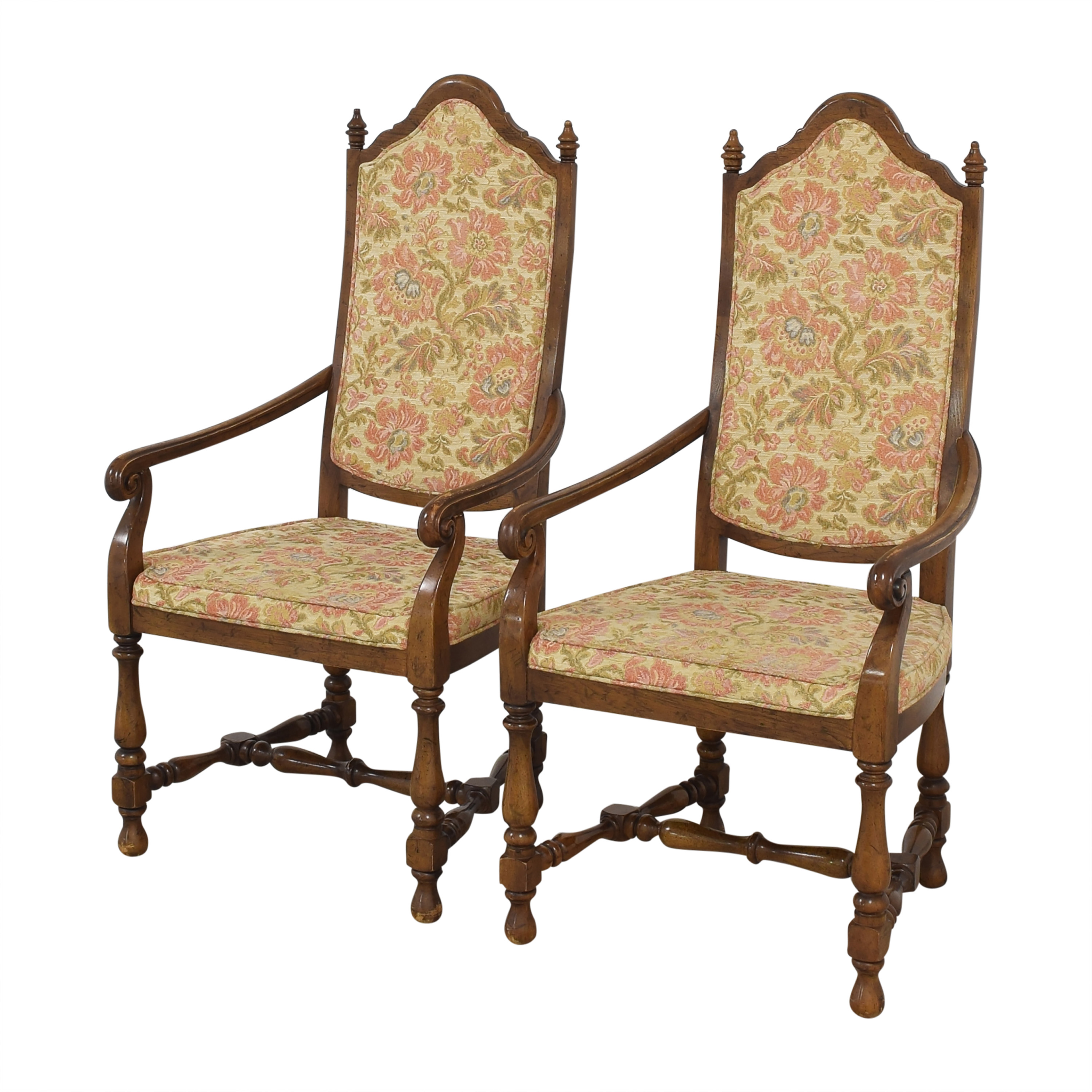 shop Heritage High Back Dining Armchairs Heritage