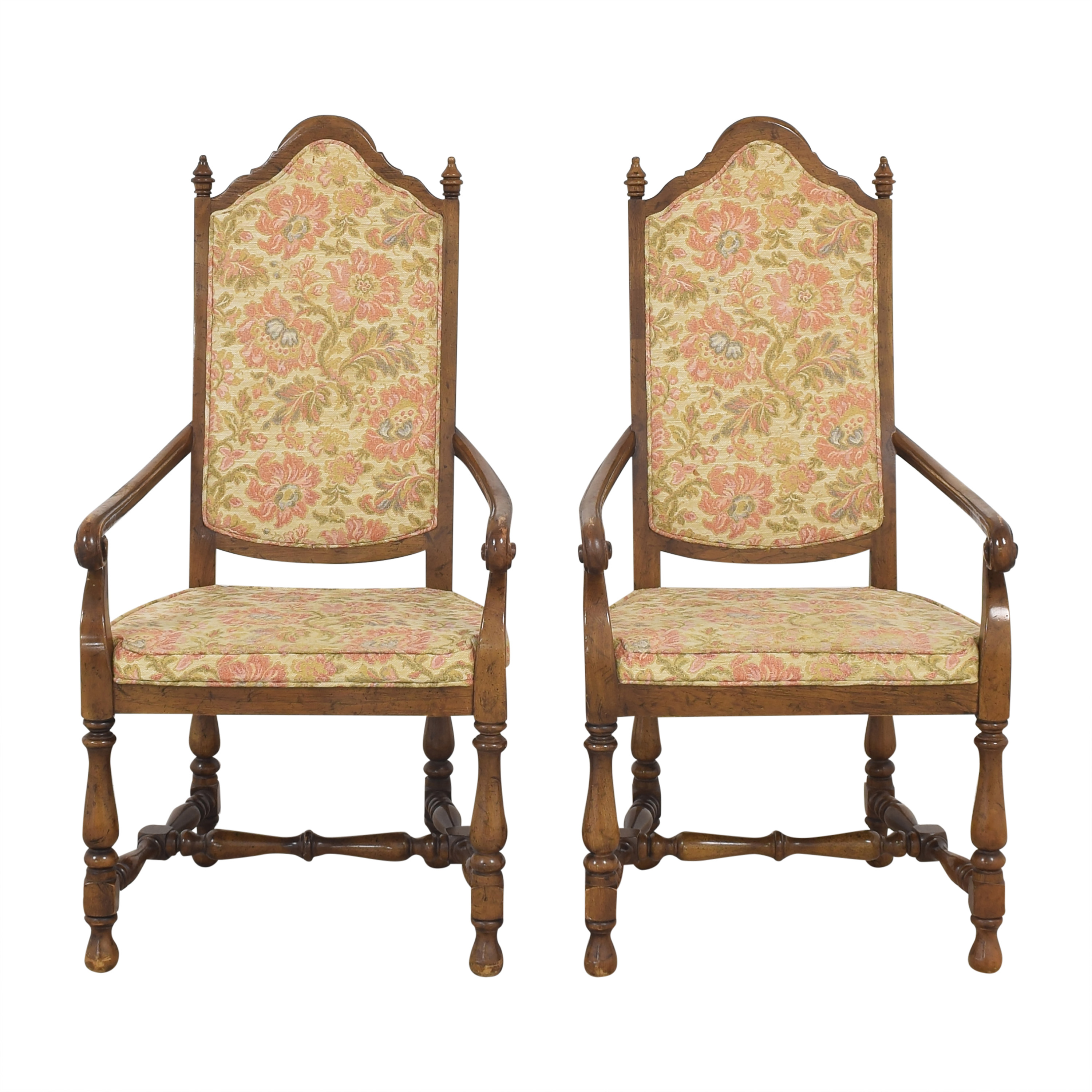 Heritage High Back Dining Armchairs Heritage