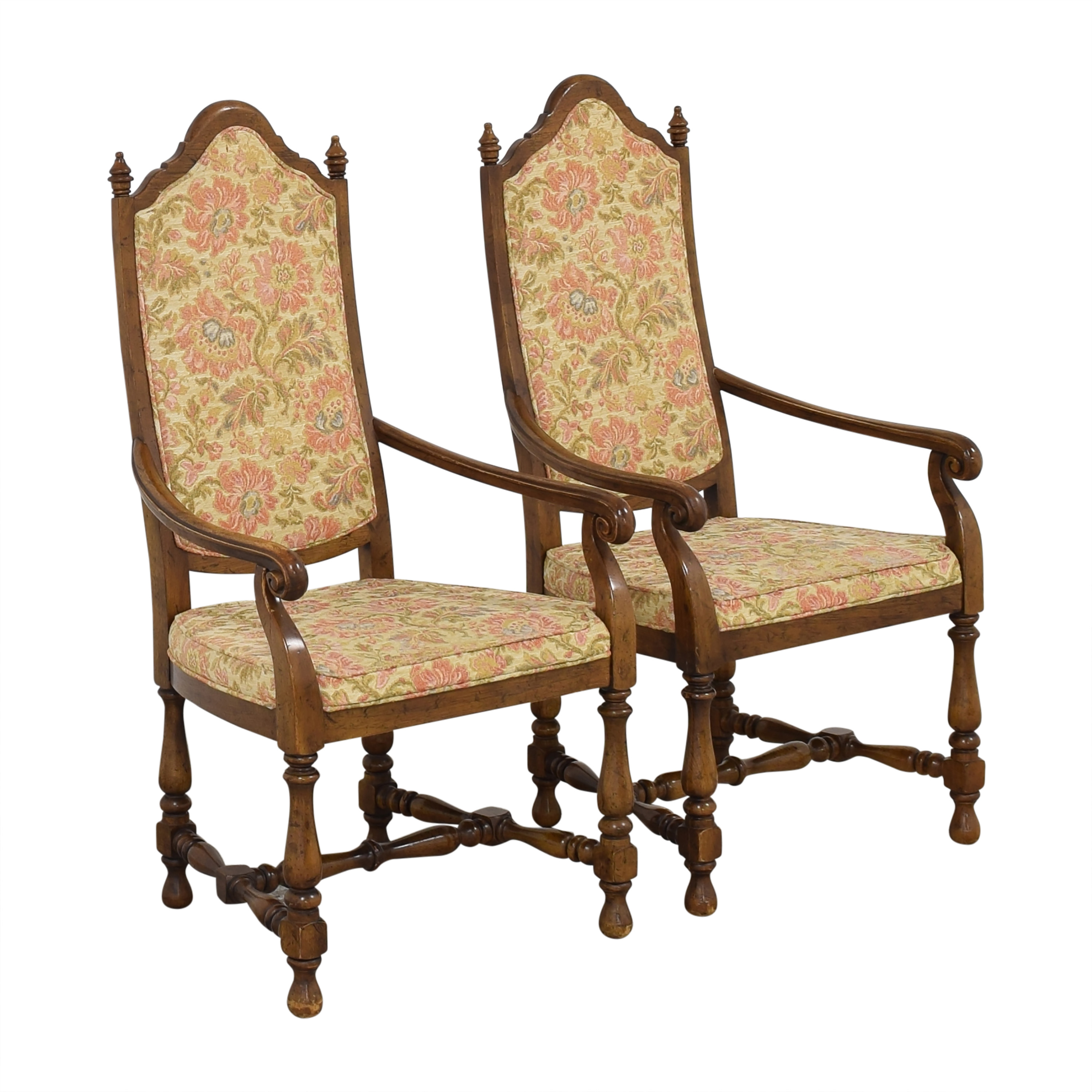 Heritage Heritage High Back Dining Armchairs dimensions