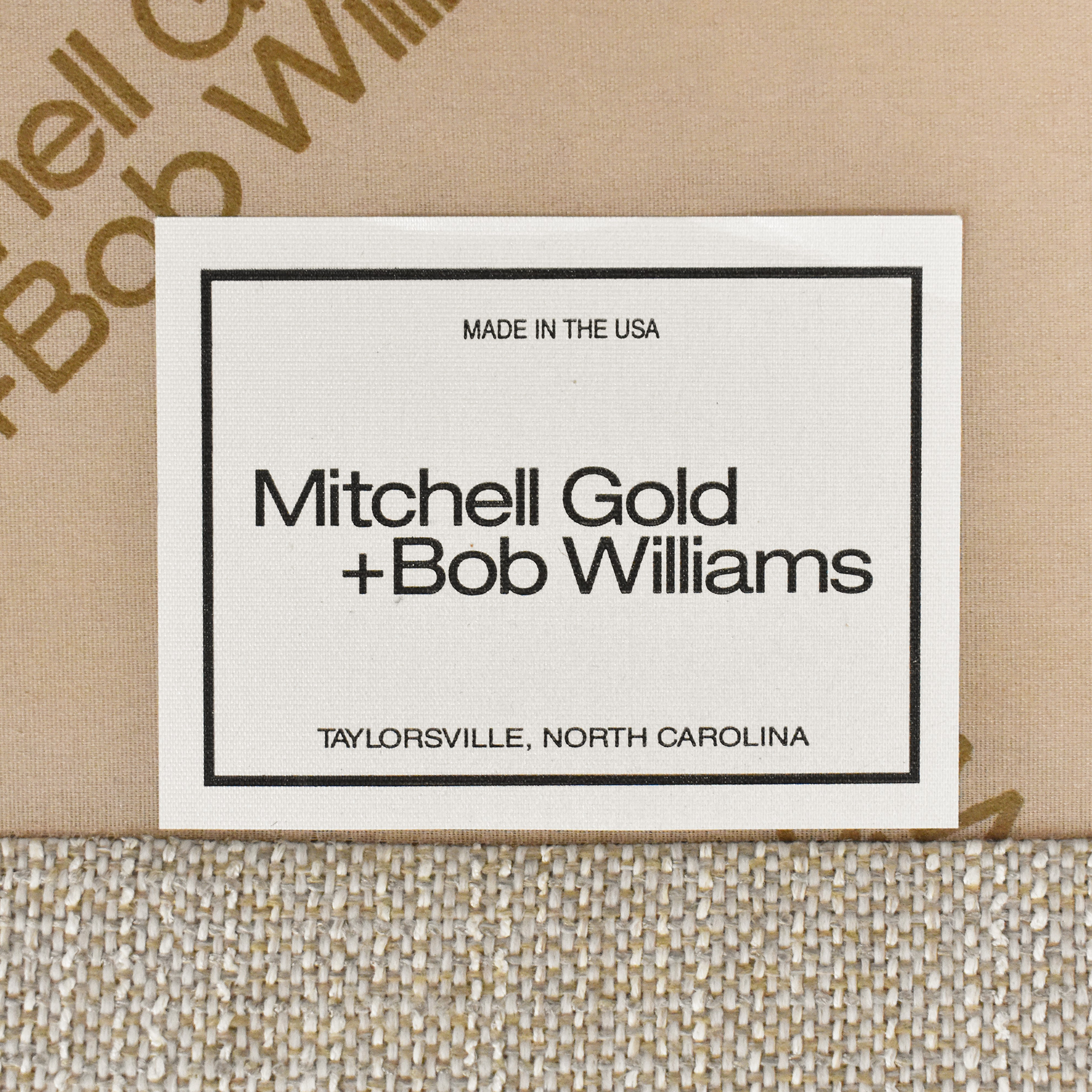 buy Mitchell Gold + Bob Williams Three Cushion Sofa Mitchell Gold + Bob Williams