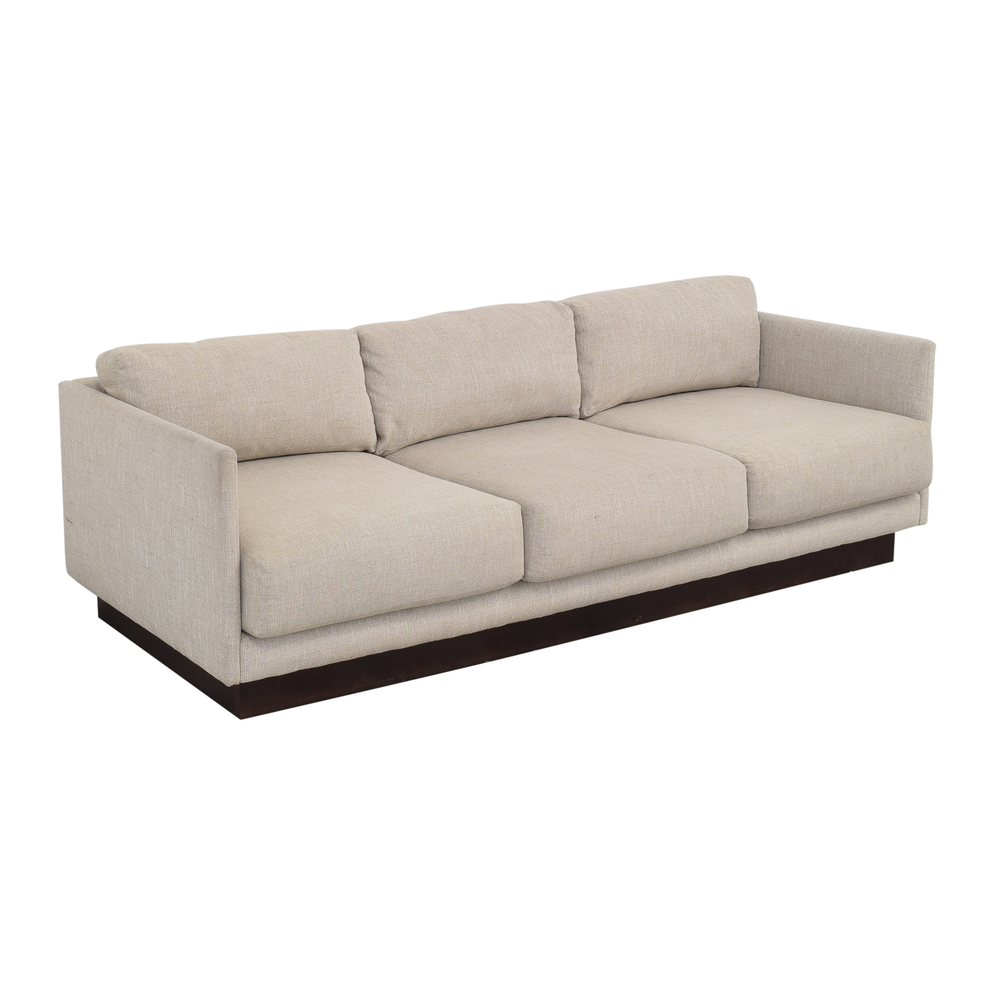Mitchell Gold + Bob Williams Mitchell Gold + Bob Williams Three Cushion Sofa ct