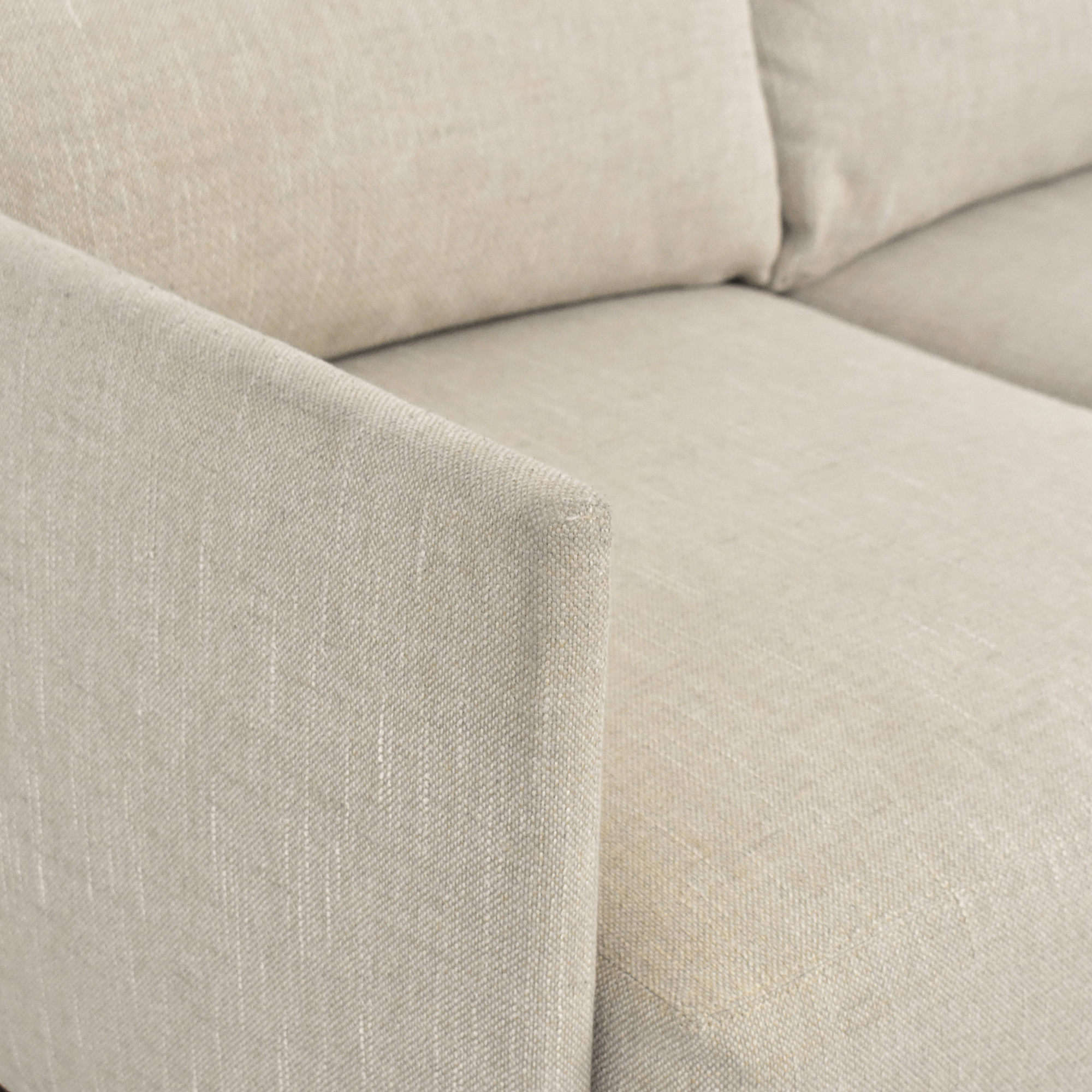 shop Mitchell Gold + Bob Williams Three Cushion Sofa Mitchell Gold + Bob Williams