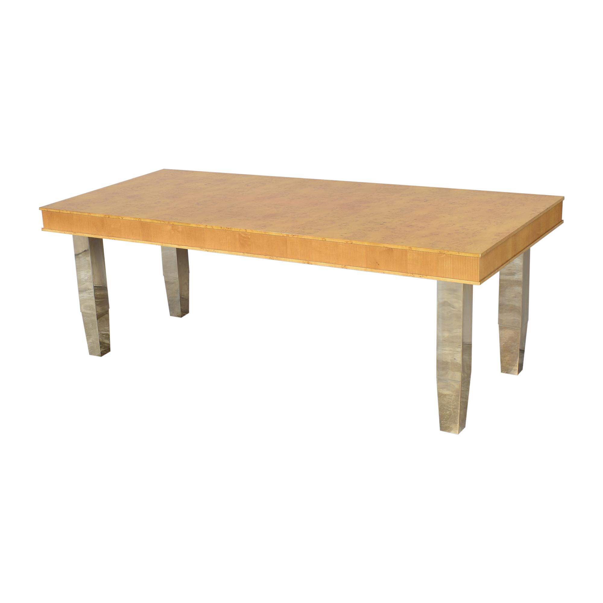 Custom Rectangular Dining Table / Dinner Tables