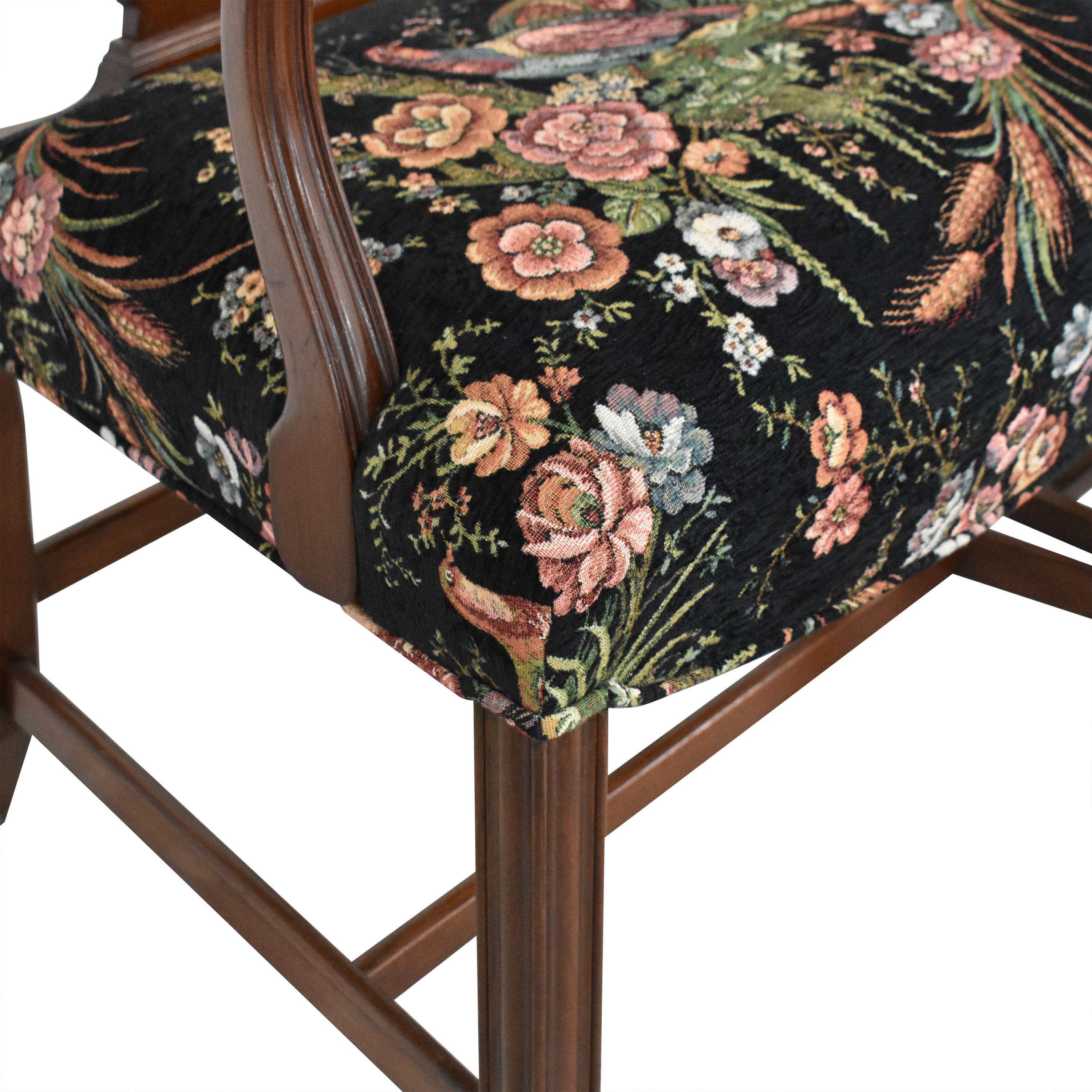 Vintage Upholstered Dining Chairs Chairs