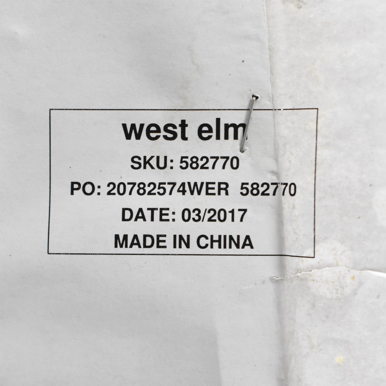 West Elm West Elm Enzo Four Piece Reclining Sectional Sofa Sofas