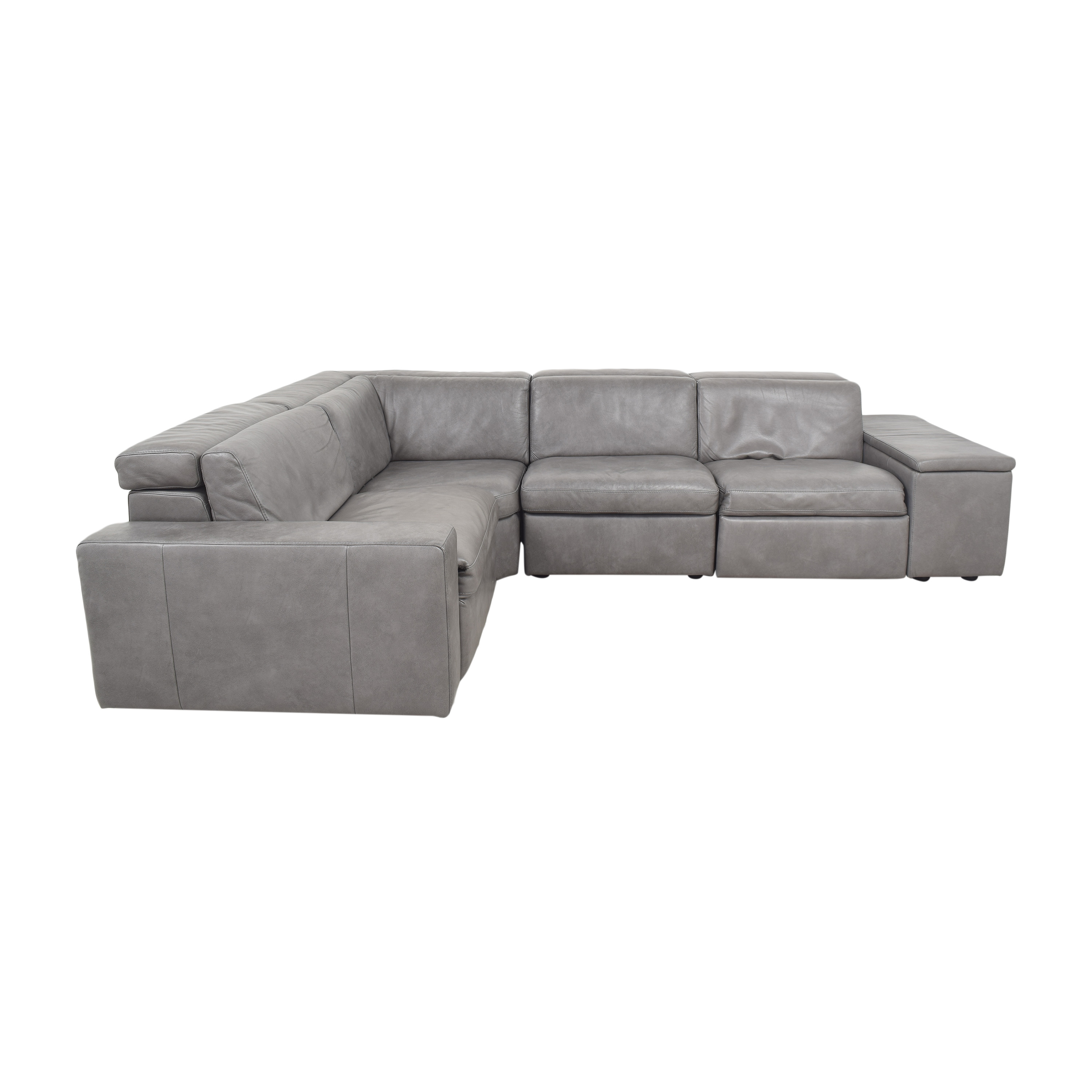 West Elm West Elm Enzo Four Piece Reclining Sectional Sofa ct