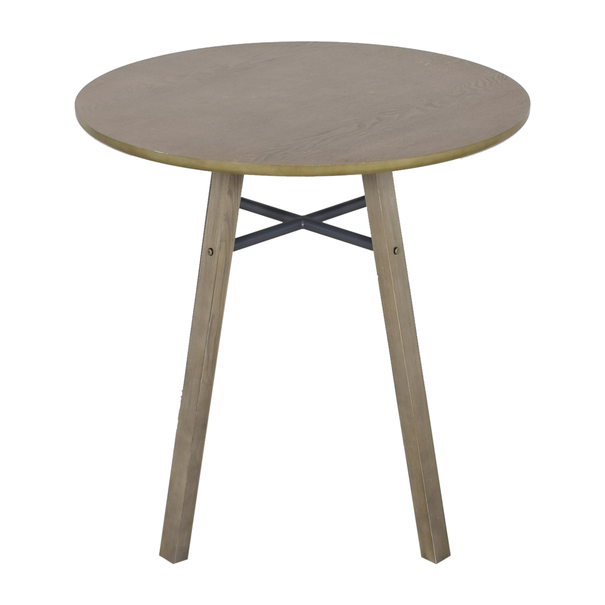 Crate & Barrel Crate & Barrel Bar Height Round Table ct