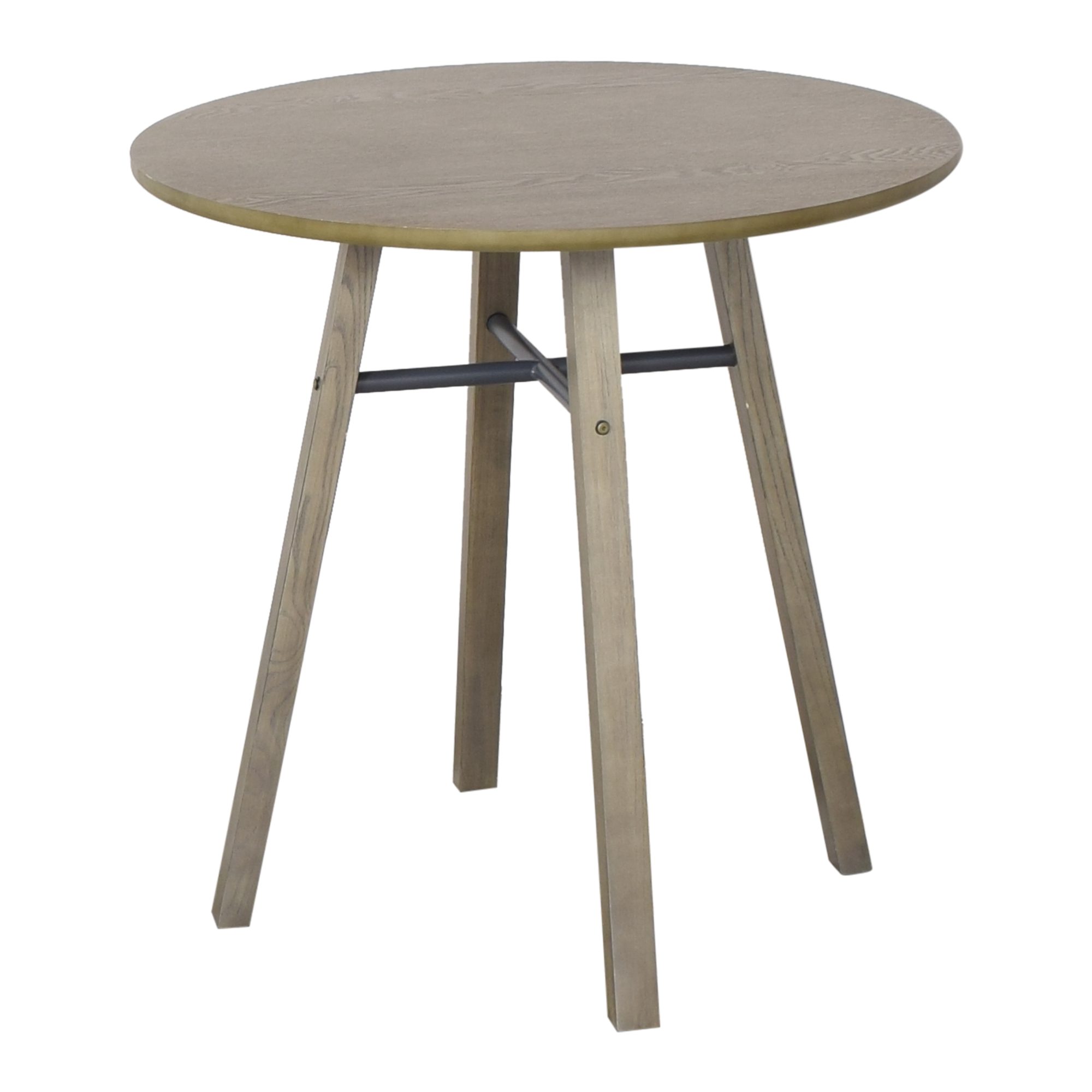 buy Crate & Barrel Bar Height Round Table Crate & Barrel Tables