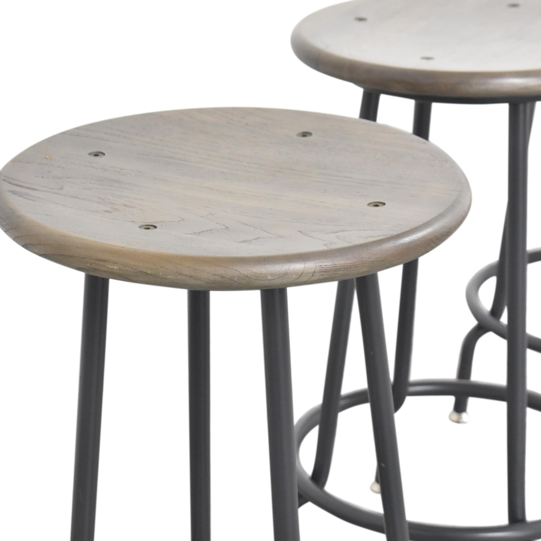 buy Crate & Barrel Scholar Counter Stools Crate & Barrel Chairs