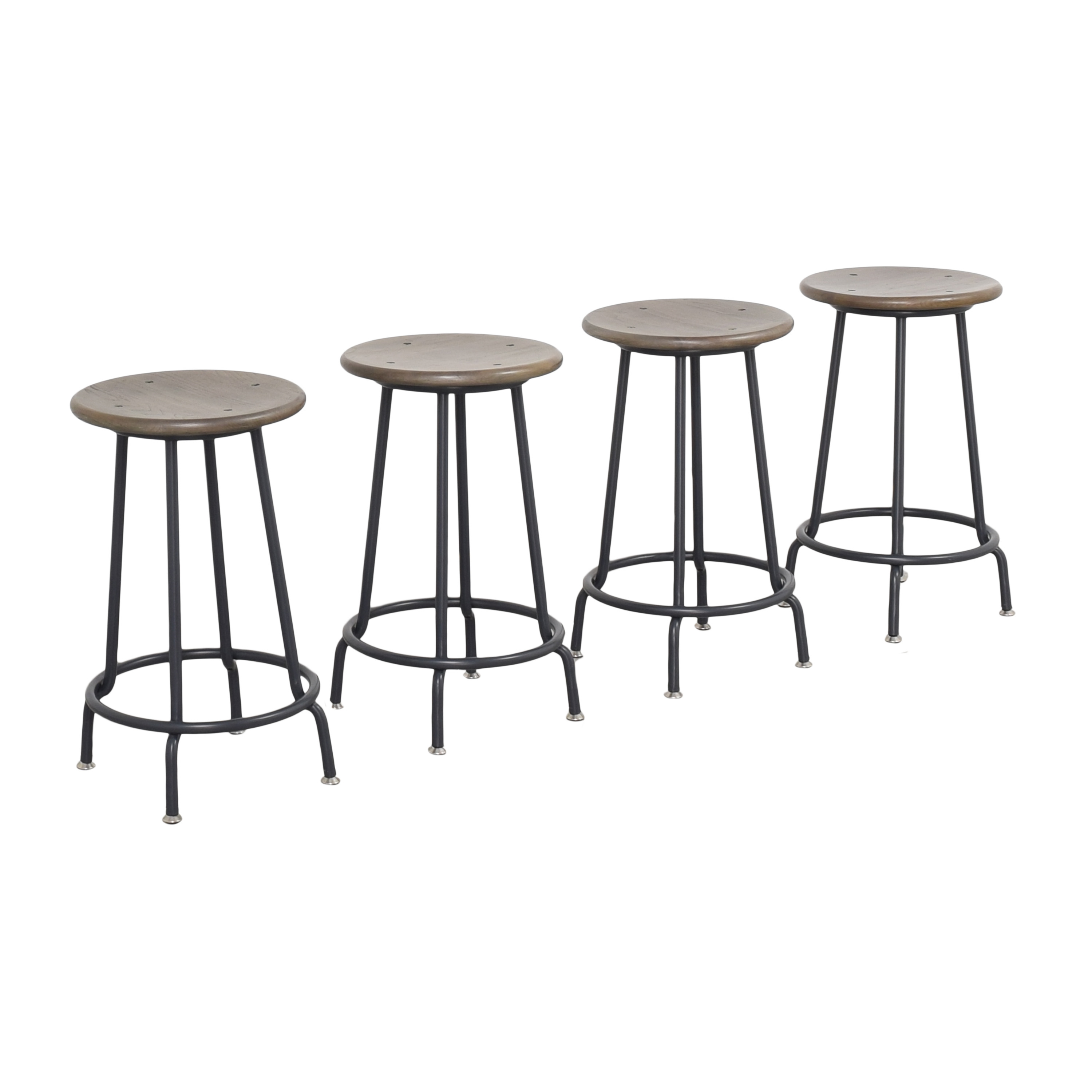 Crate & Barrel Scholar Counter Stools / Chairs