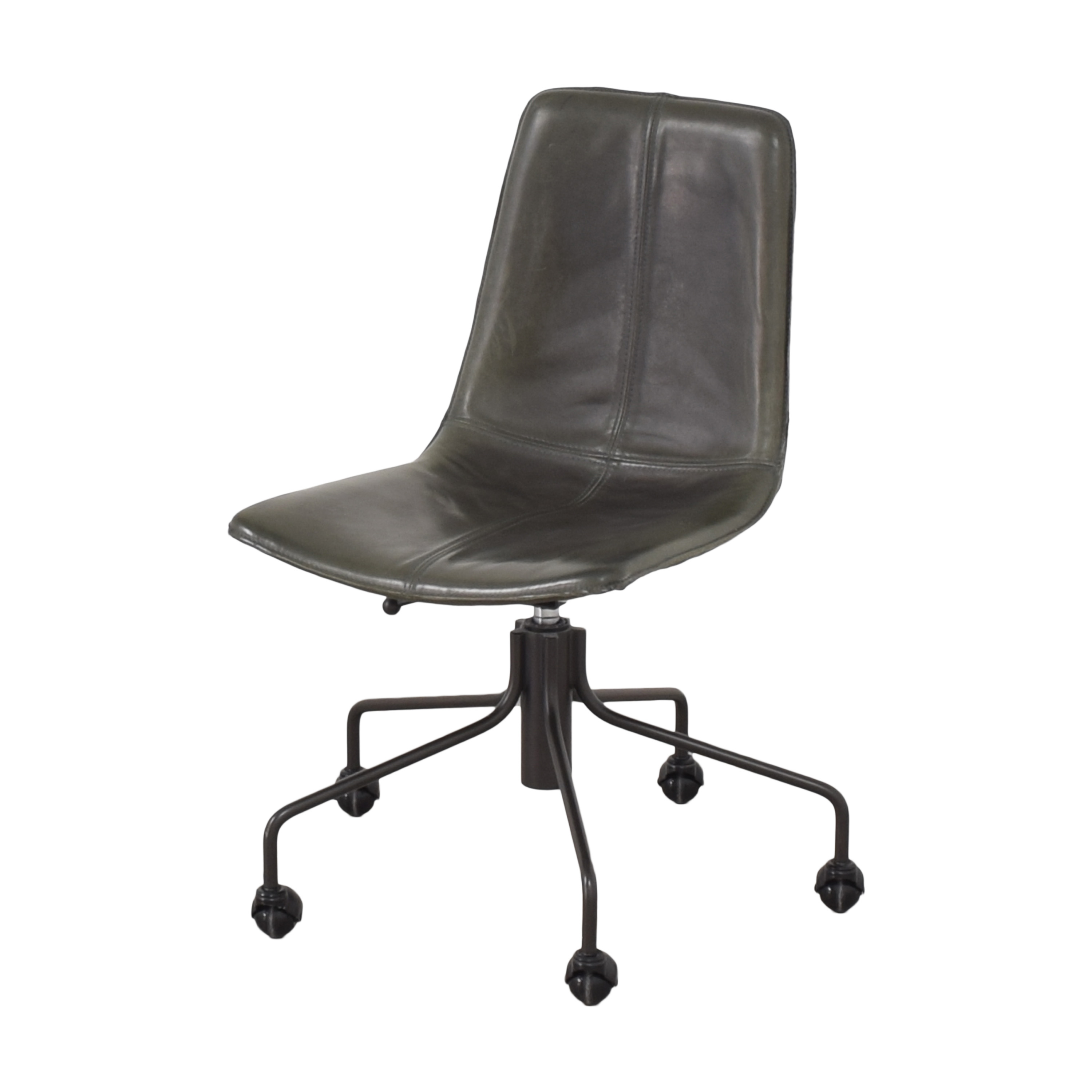 buy West Elm Slope Swivel Office Chair West Elm Chairs
