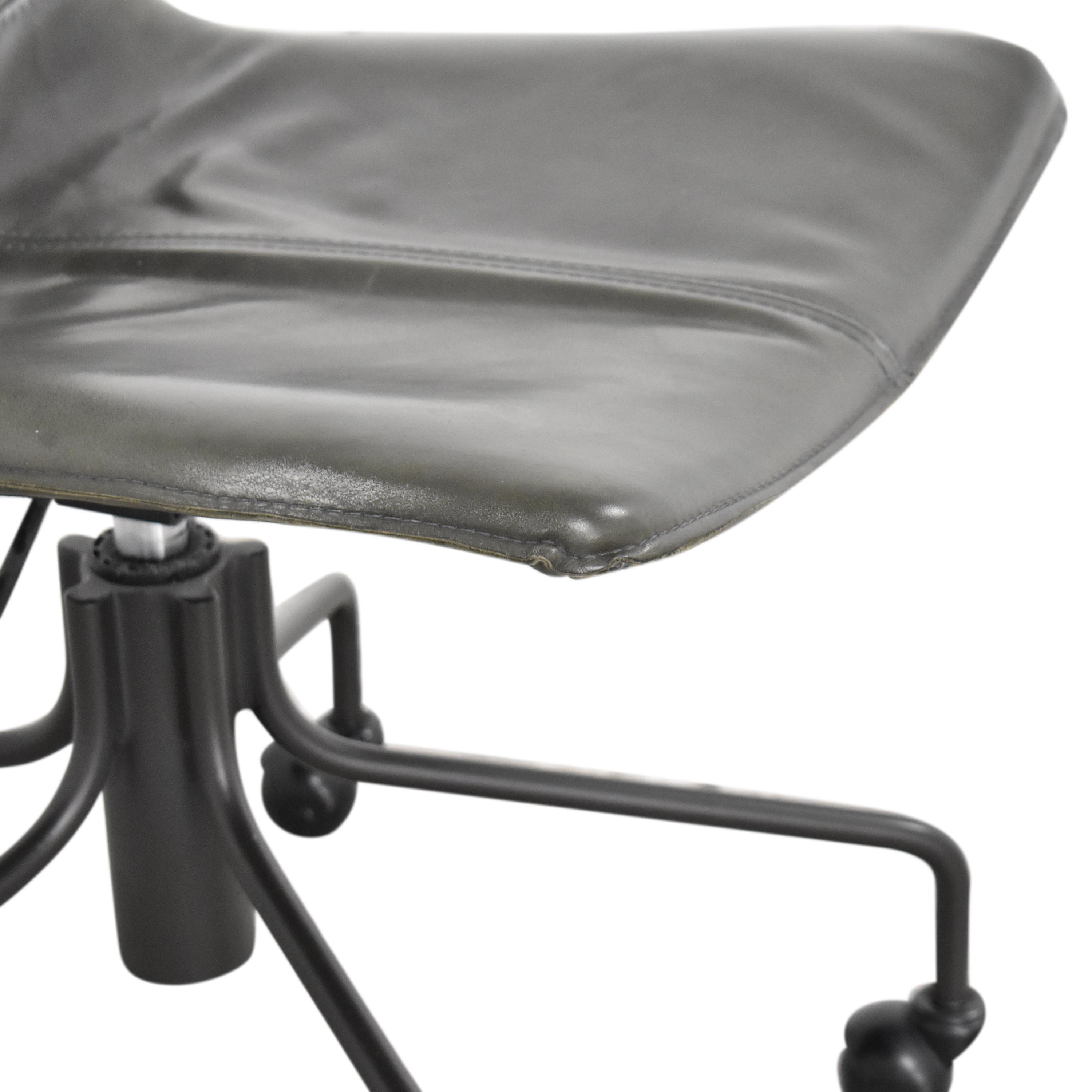 West Elm West Elm Slope Swivel Office Chair second hand