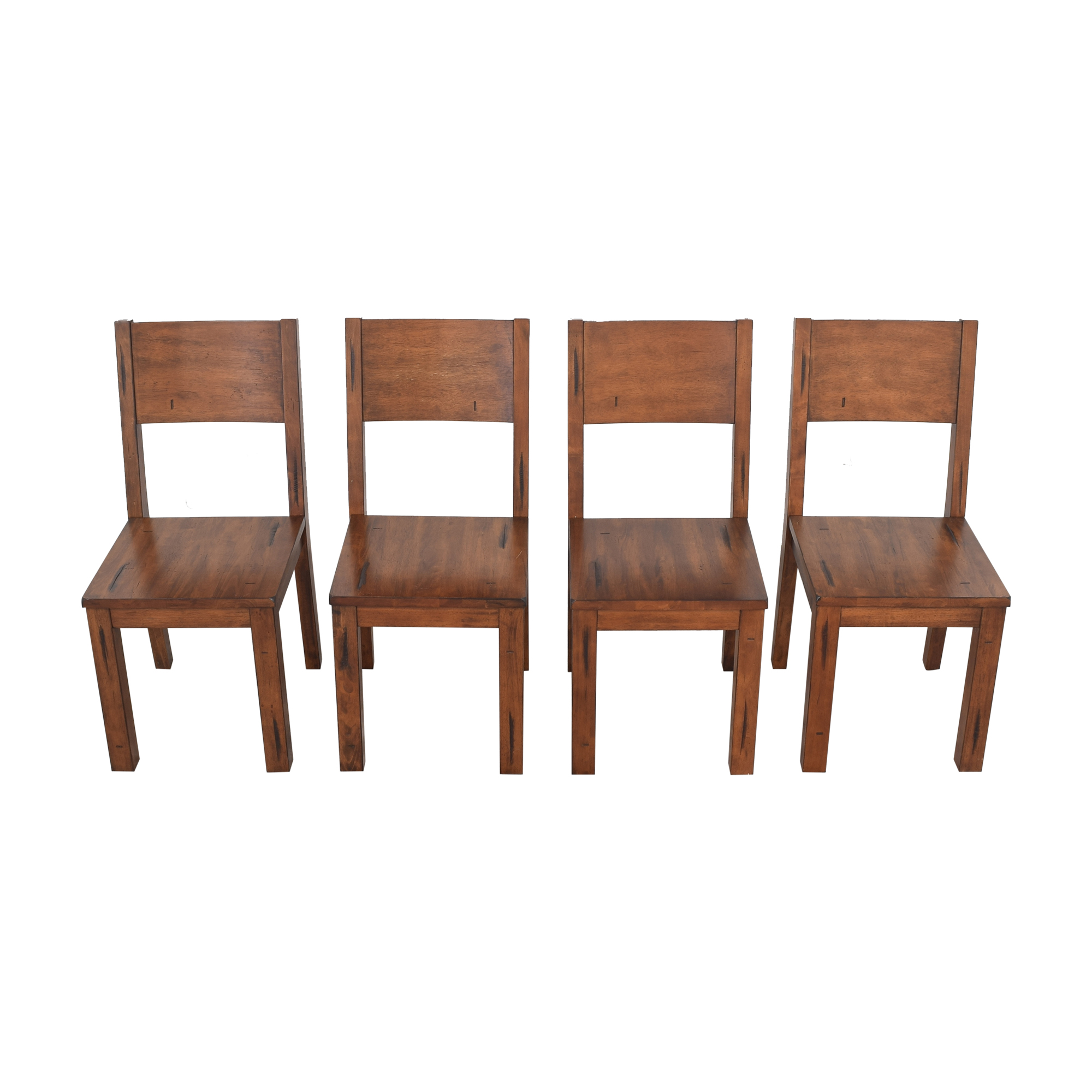 Farmhouse-Style Dining Chairs second hand