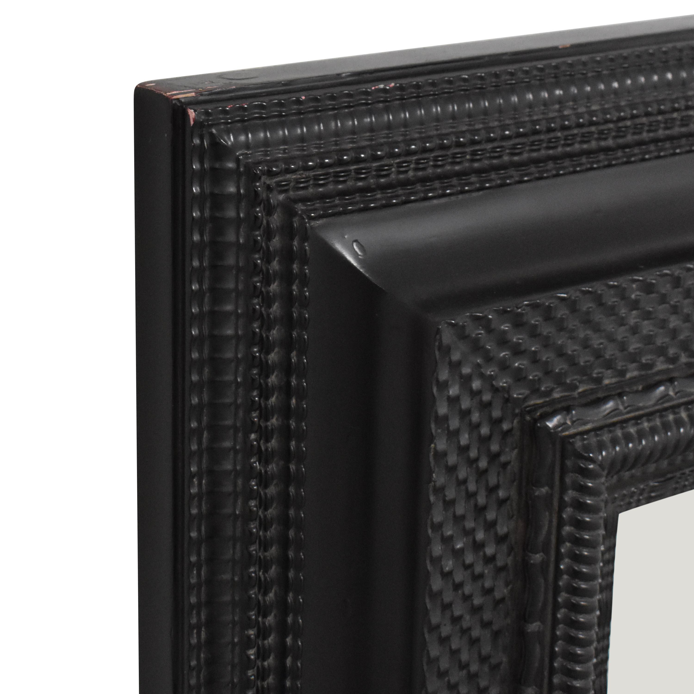 Restoration Hardware Framed Wall Mirror / Decor
