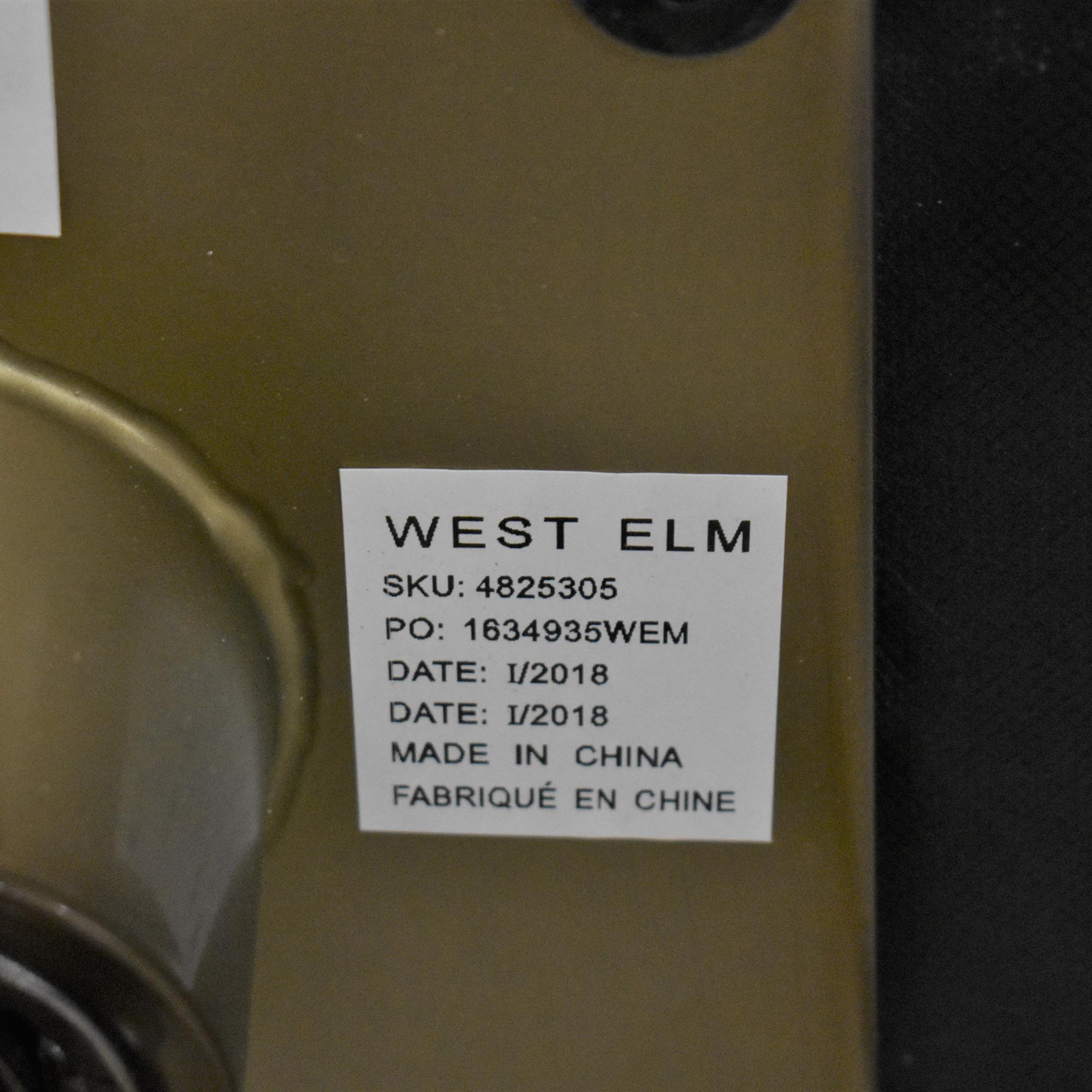 shop West Elm Valentina Swivel Chair West Elm Chairs