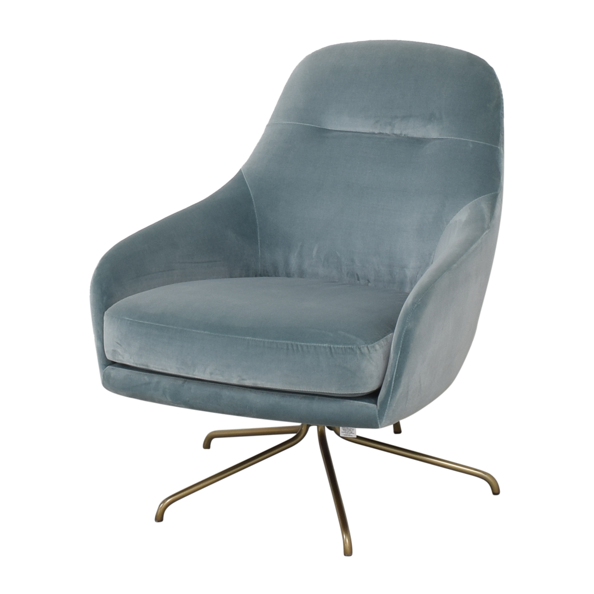West Elm West Elm Valentina Swivel Chair ct