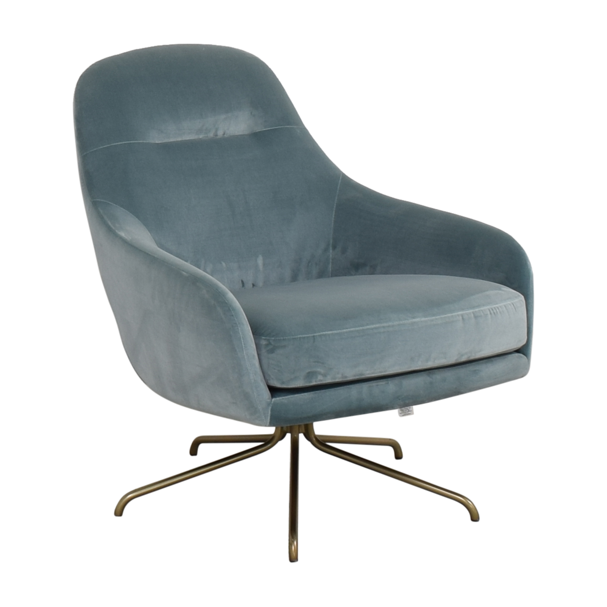 West Elm Valentina Swivel Chair sale