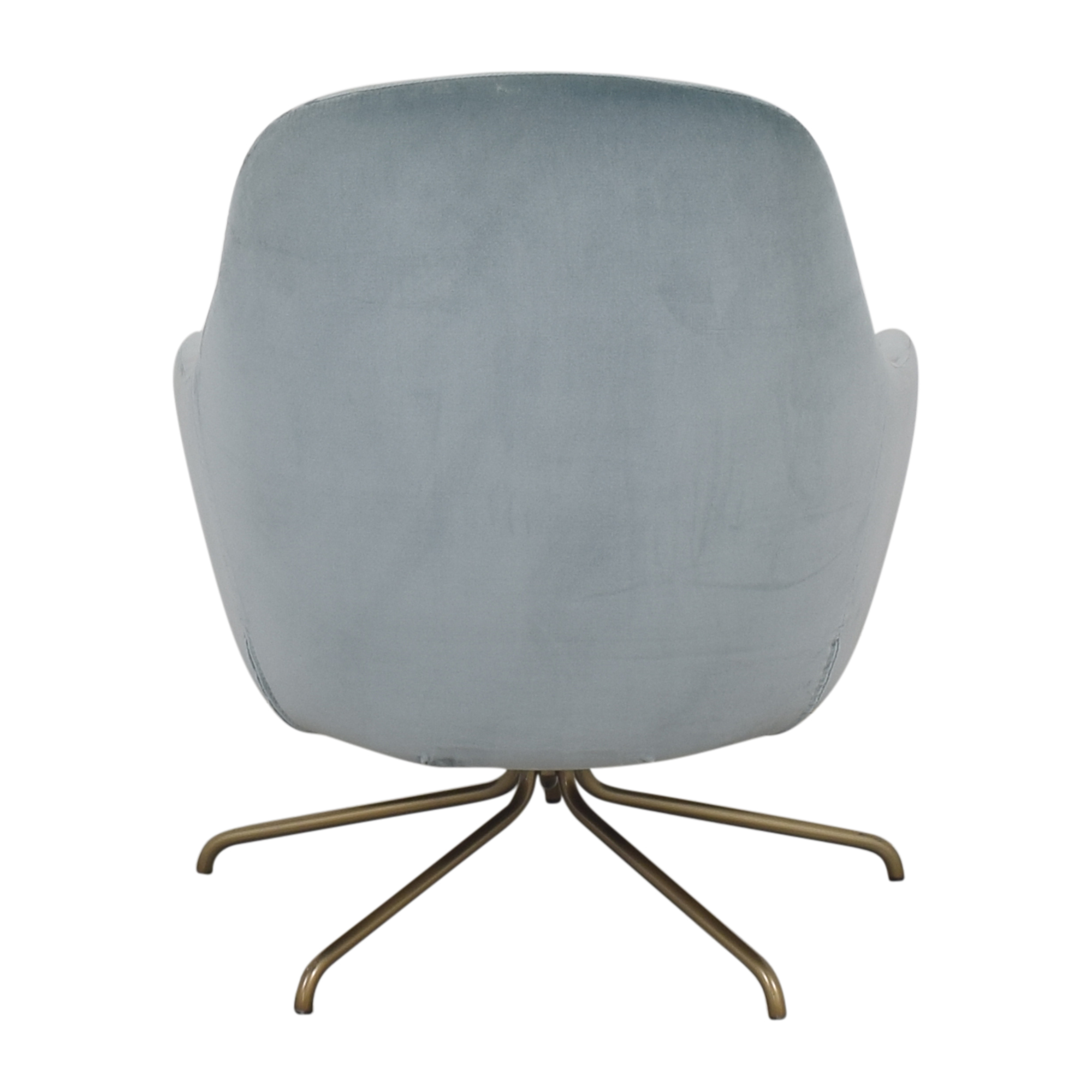 West Elm Valentina Swivel Chair / Chairs