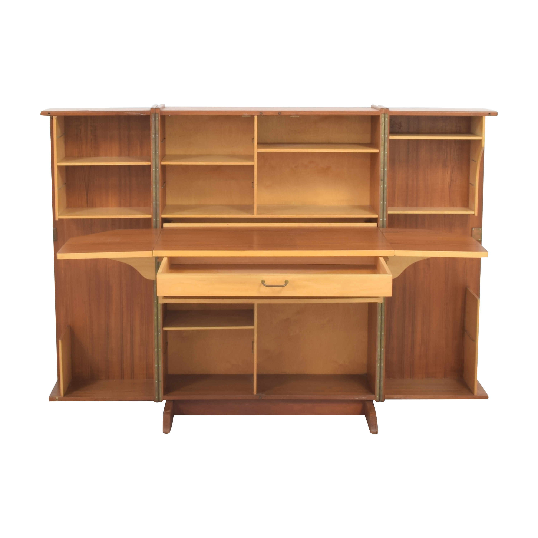 Mid-Century Modern Magic Box Folding Desk sale