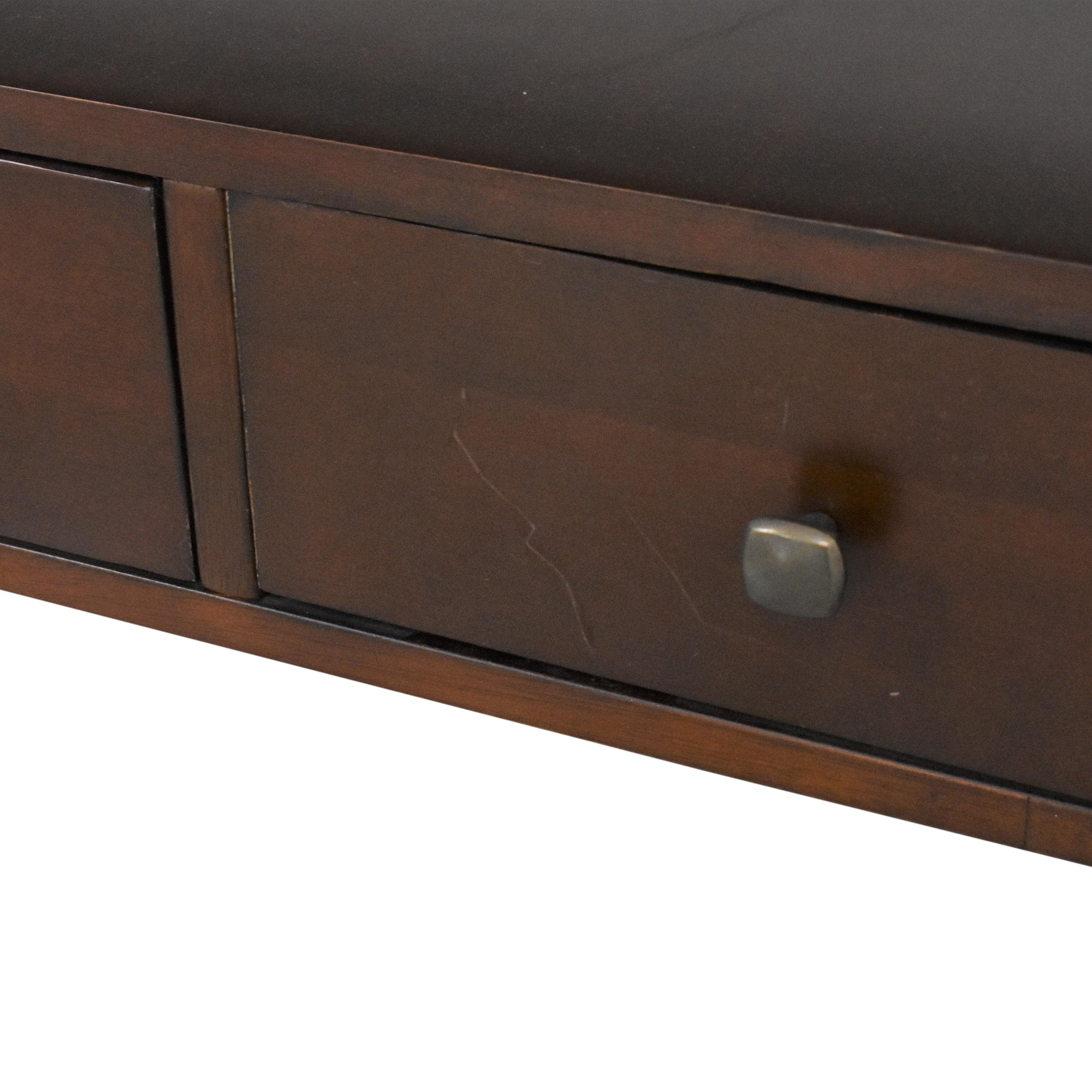 Macy's Macy's Three Drawer Console Table for sale