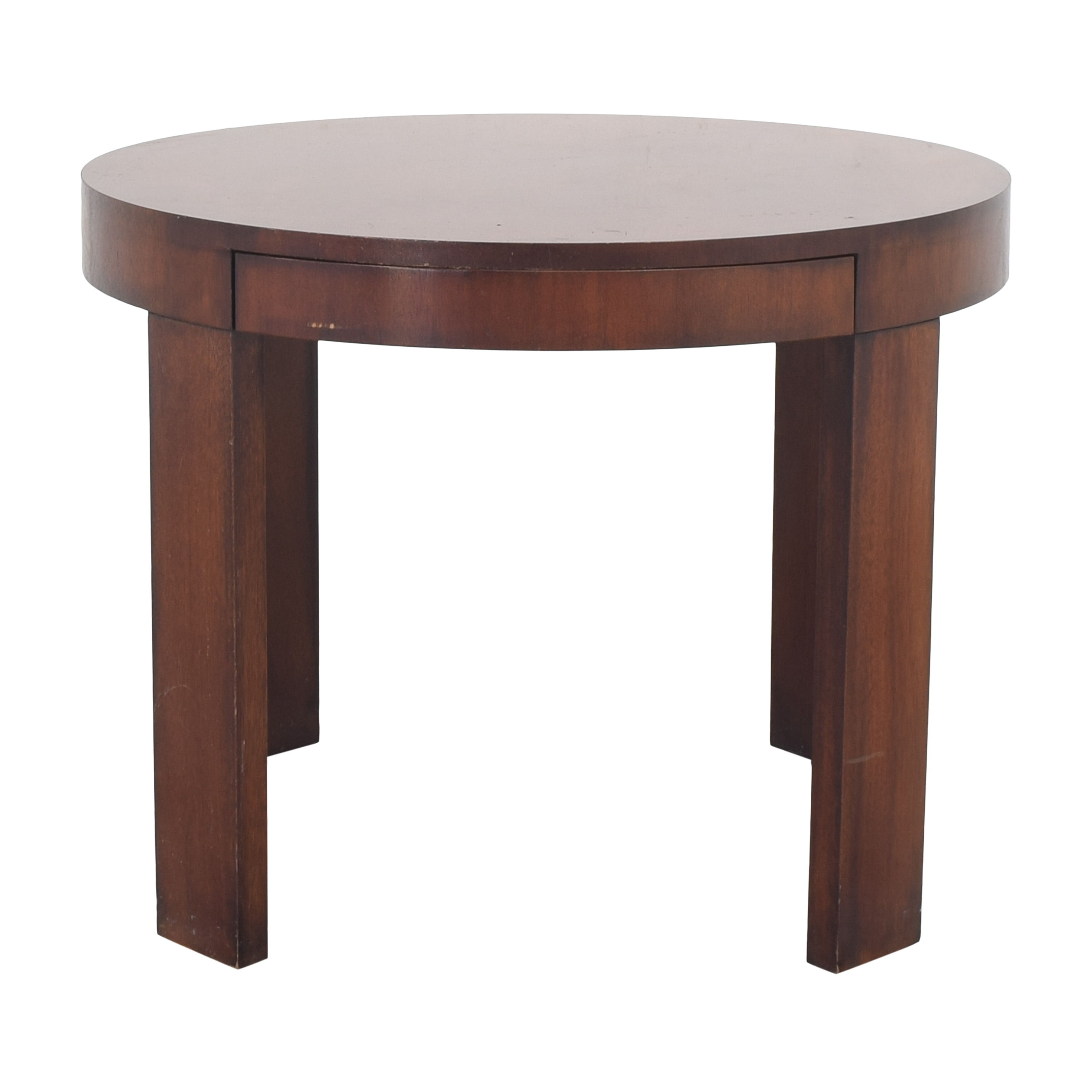 Ralph Lauren Home Ralph Lauren Home Round Single Drawer End Table nj