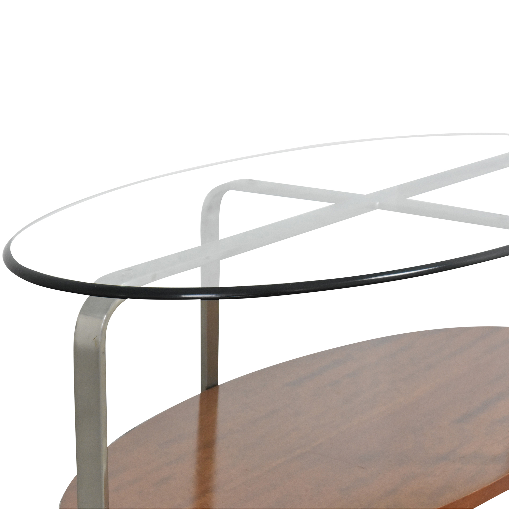 The Lane Company The Lane Company Oval Coffee Table discount