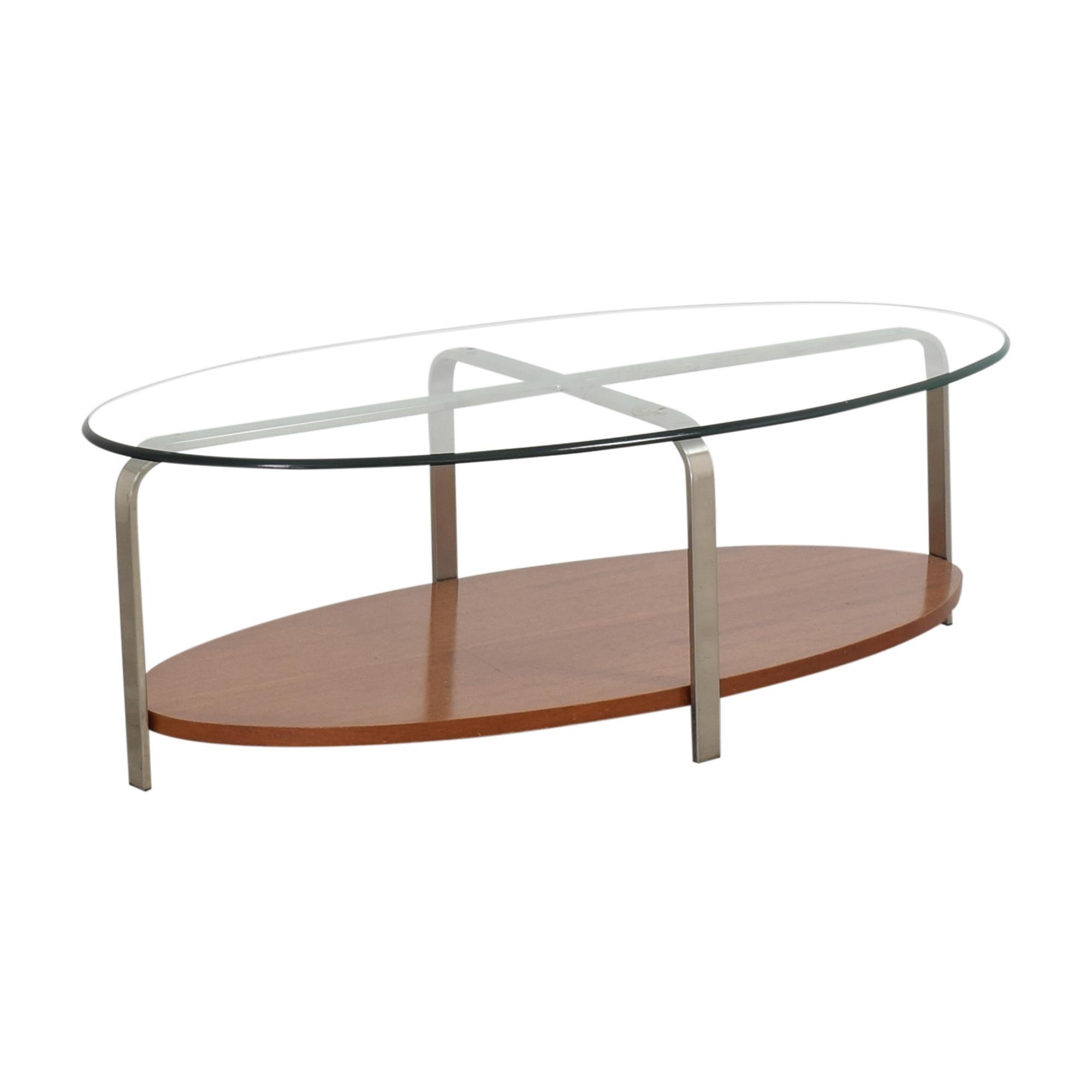 The Lane Company The Lane Company Oval Coffee Table ct
