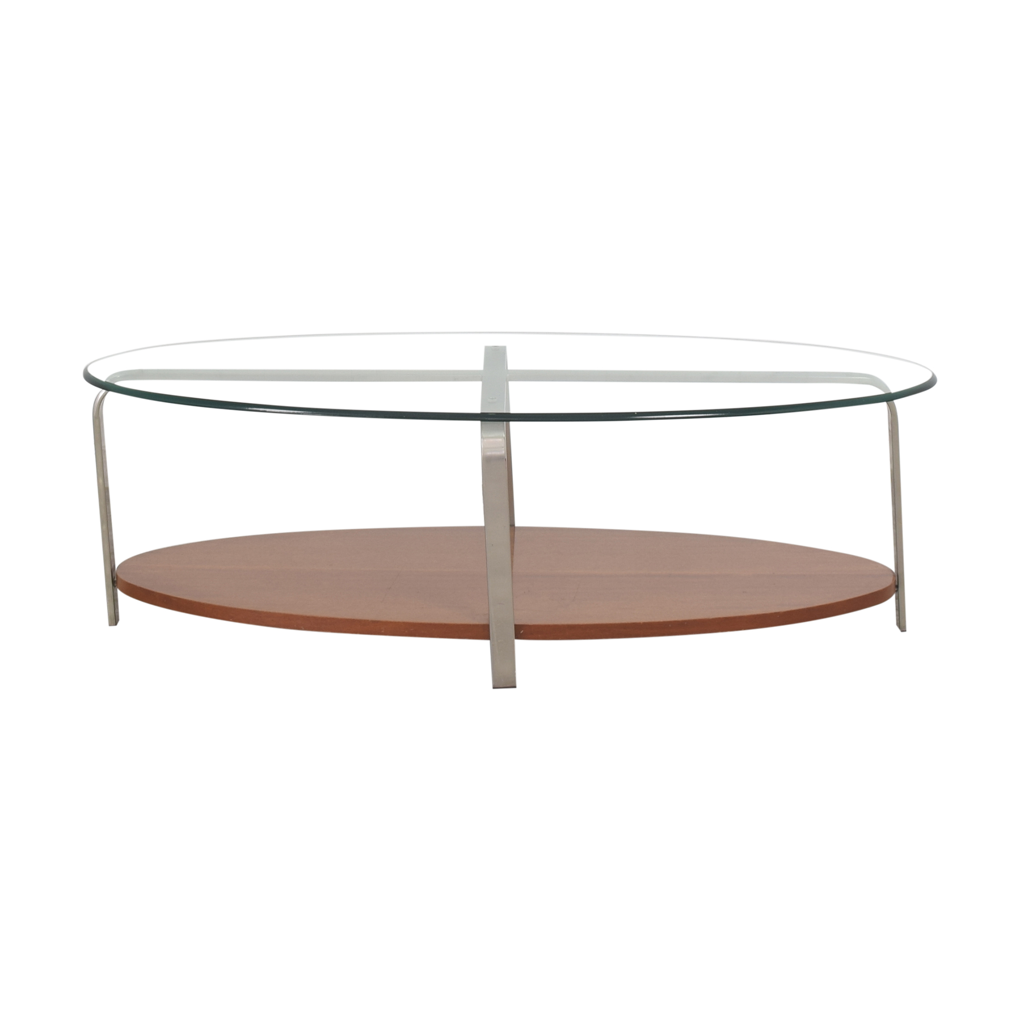 The Lane Company The Lane Company Oval Coffee Table ct