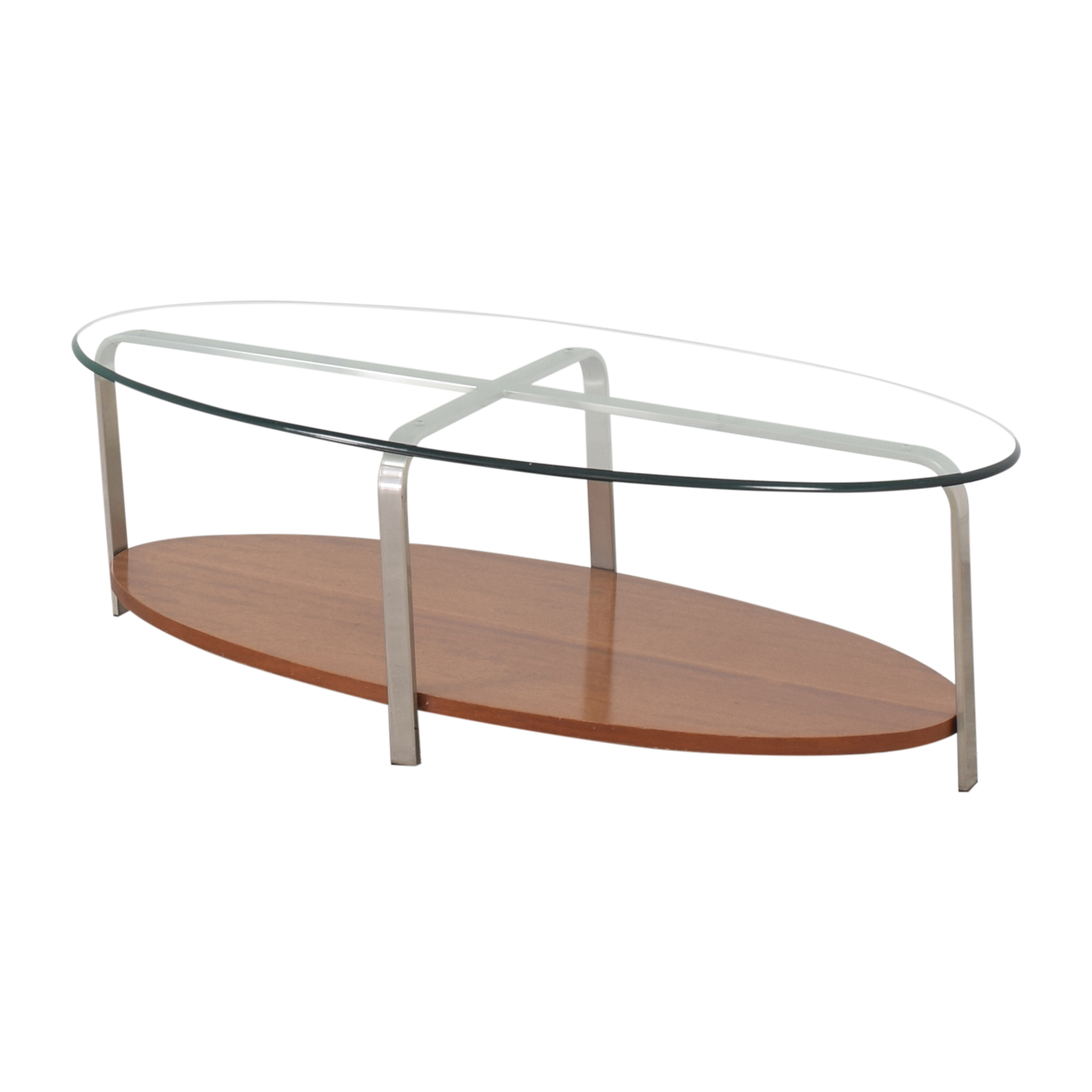 The Lane Company The Lane Company Oval Coffee Table for sale